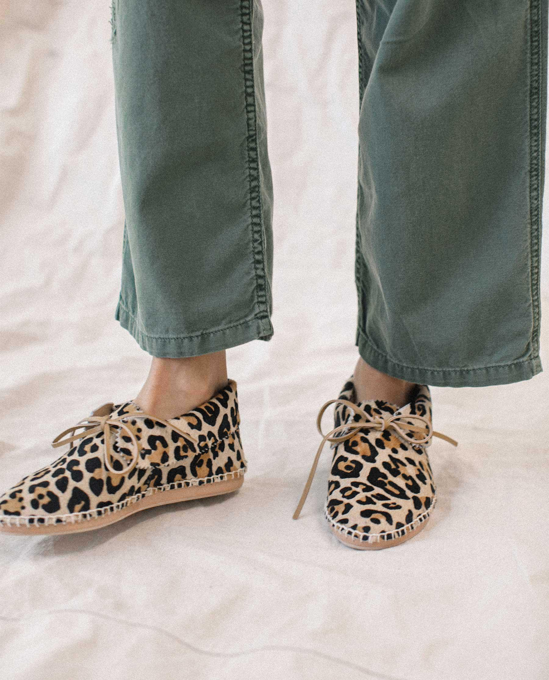 The Canyon Moccasin. -- LEOPARD 1