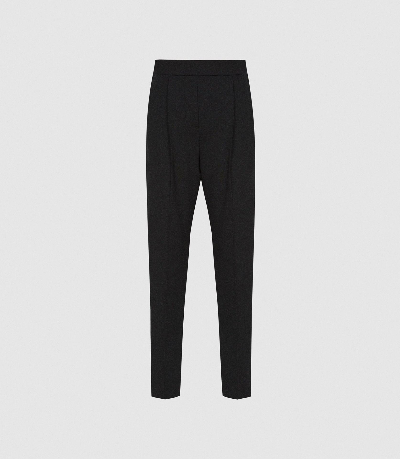 JAY - PLEAT FRONT TAILORED TROUSERS 4