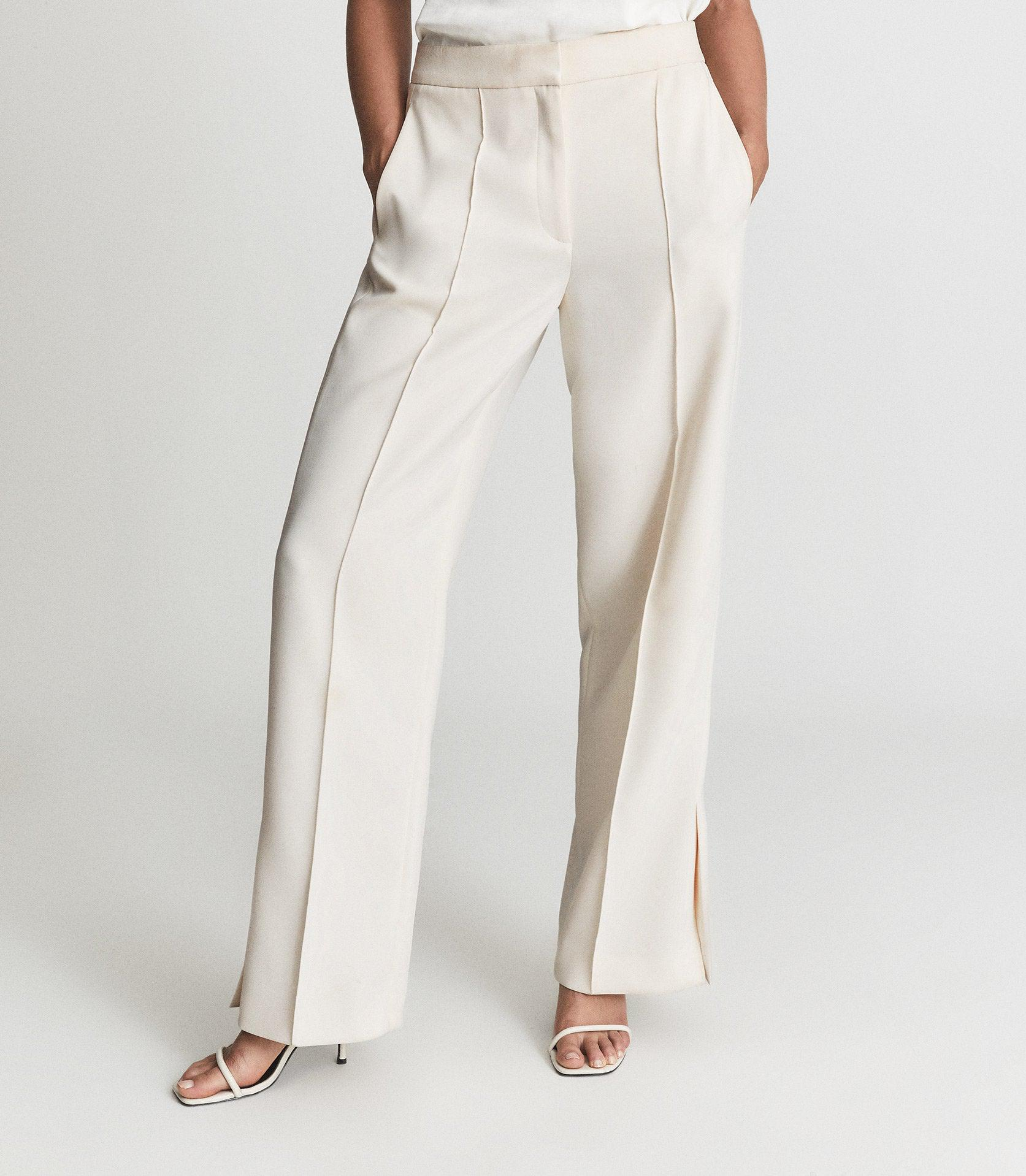 LEAH - WIDE LEG TAILORED TROUSERS 1