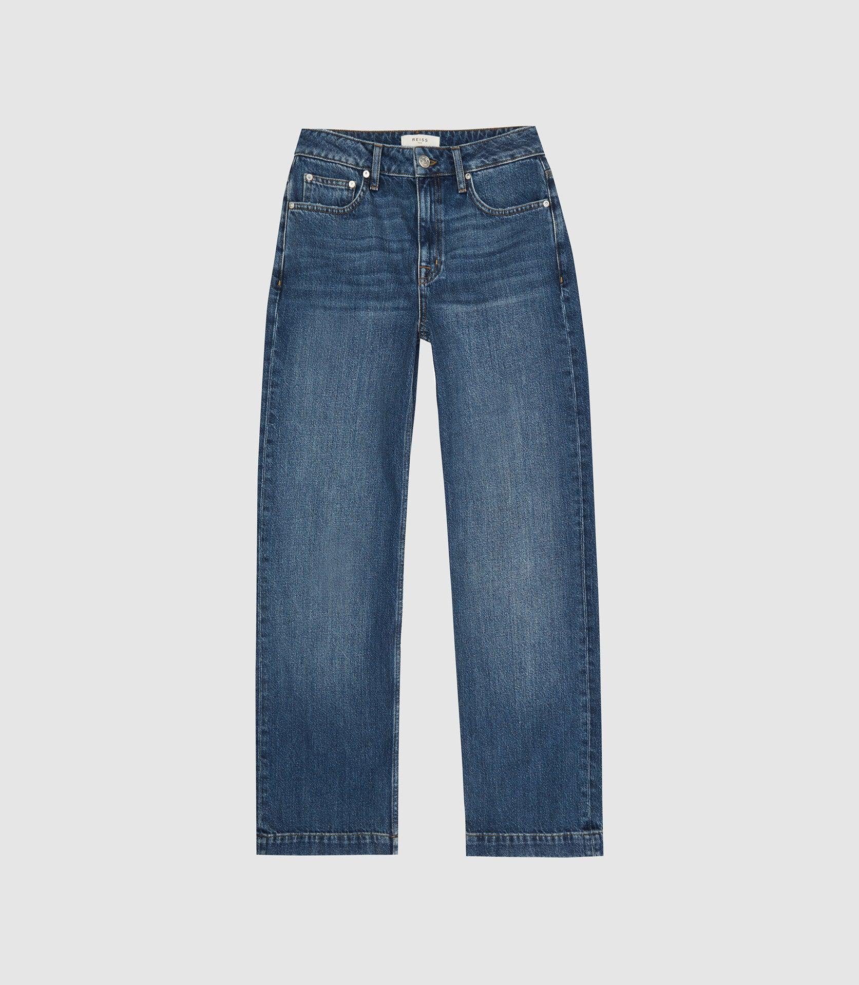 ADELE - MID RISE RELAXED WIDE LEG JEANS 3