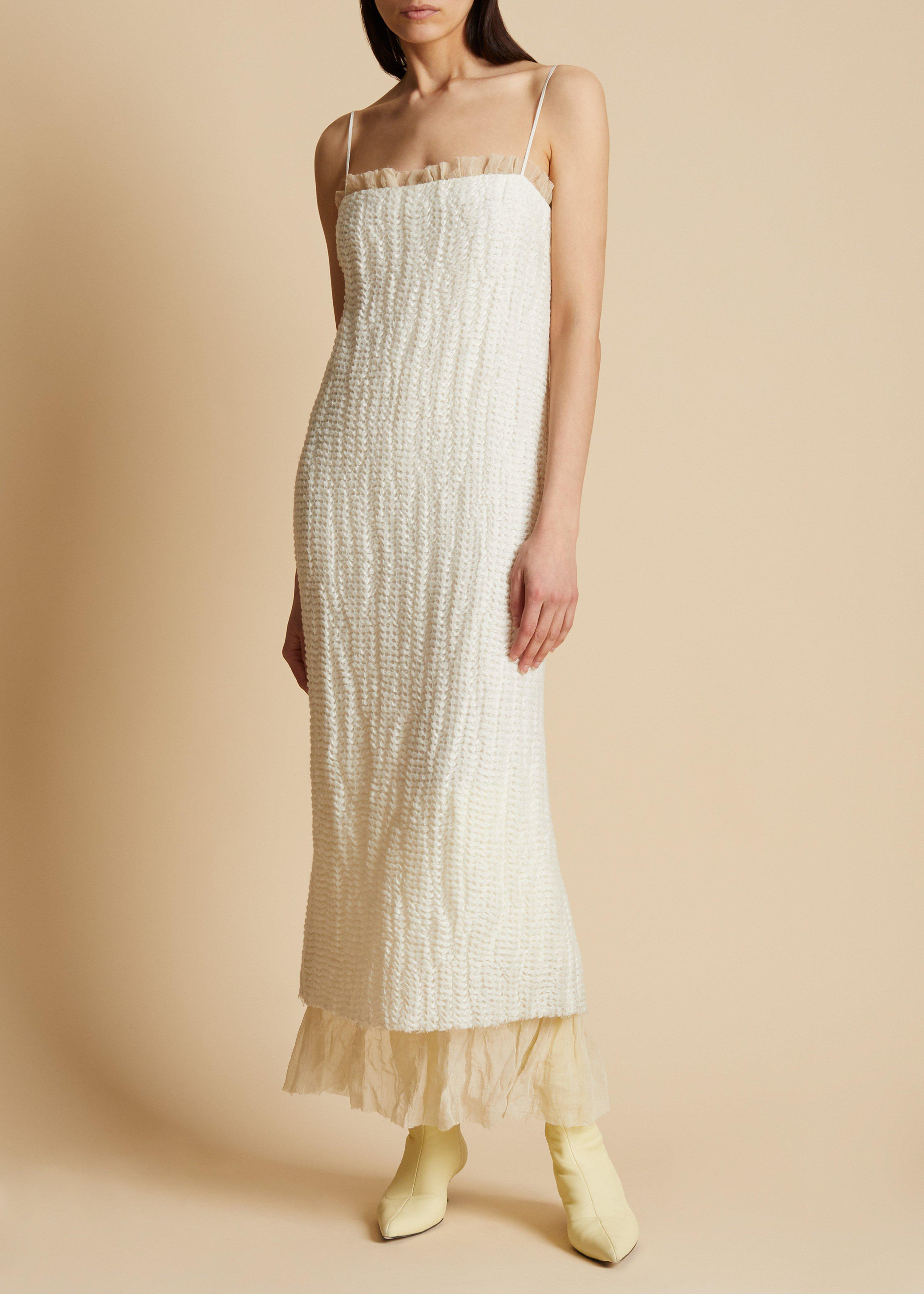 The Susanna Dress in Ivory