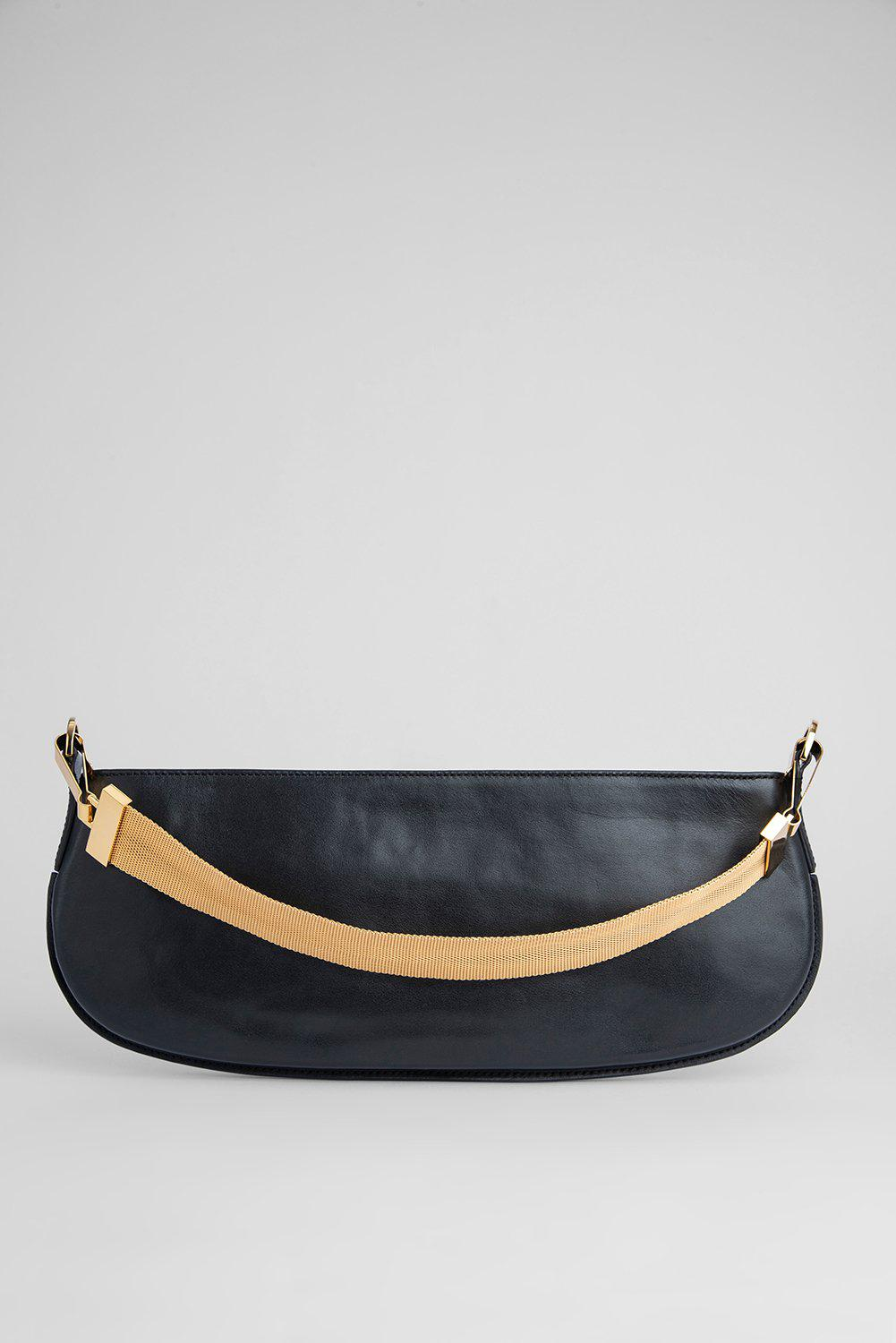Beverly Black Smooth Calf Leather