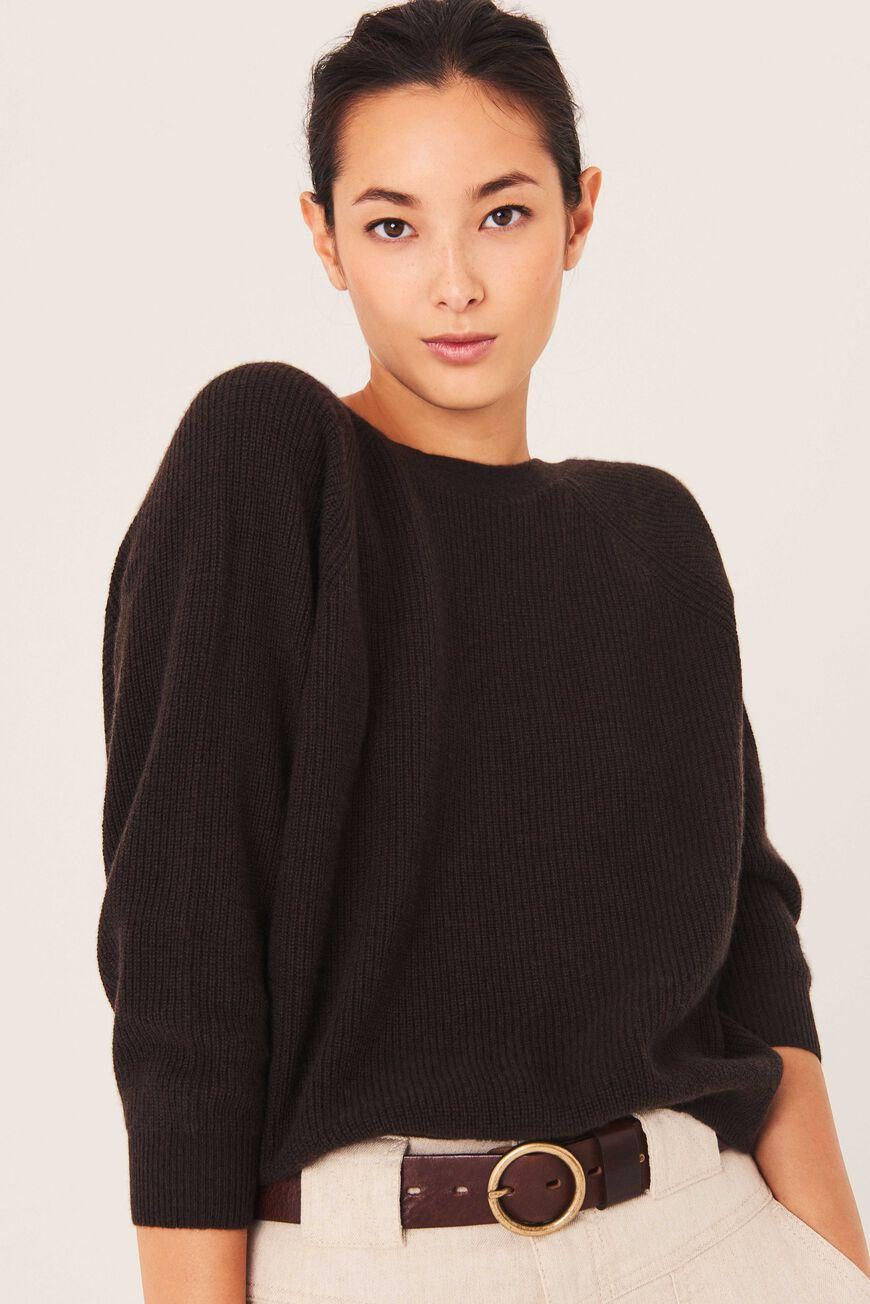 cramy.BACKLESS CASHMERE SWEATER 1