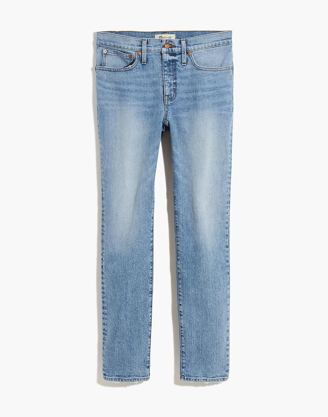 Tomboy Straight Jeans in Glover Wash 4