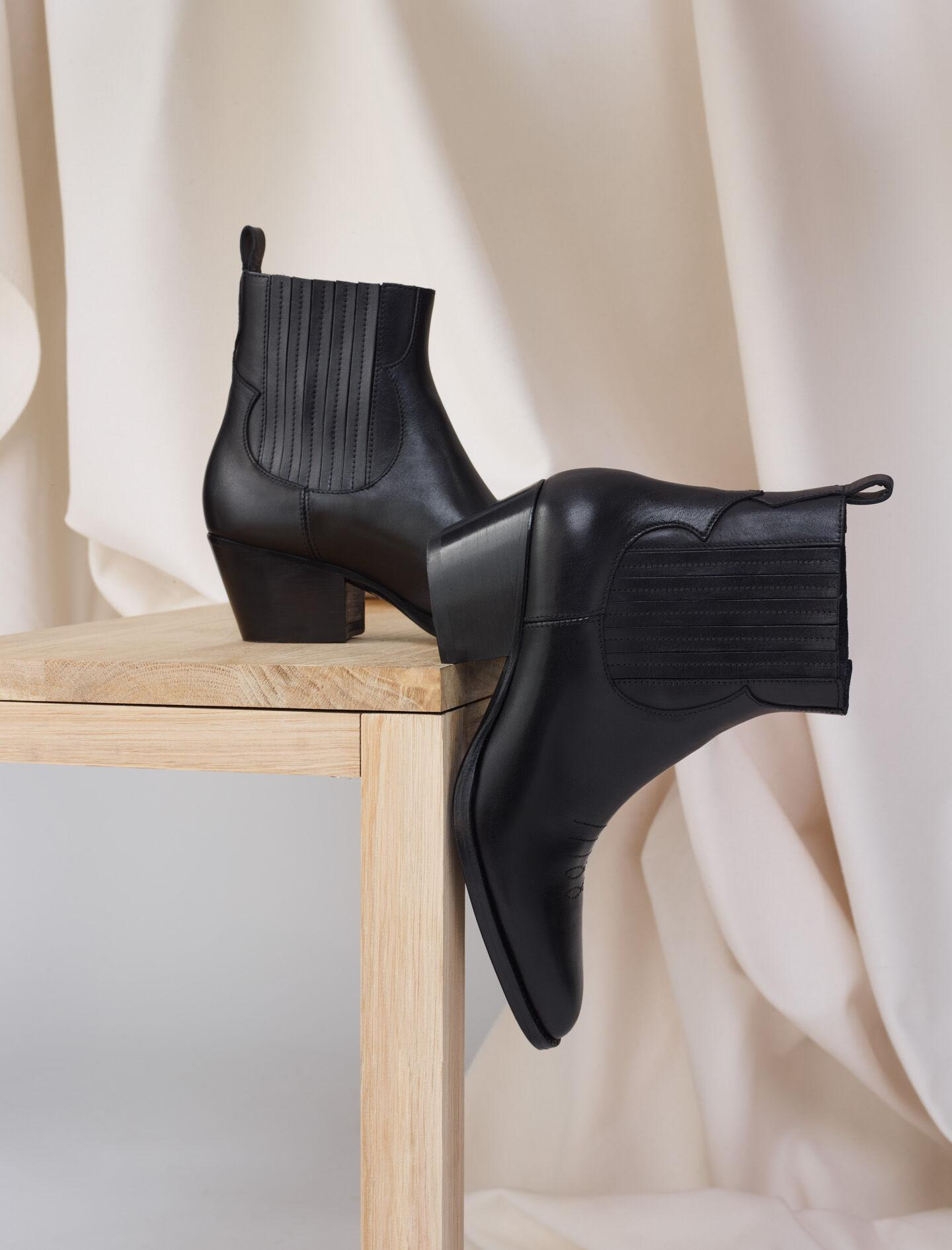 LEATHER COWBOY BOOTS 4