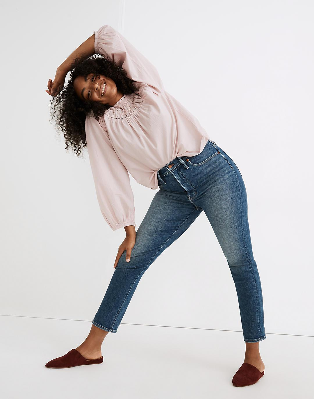 The Petite Perfect Vintage Jean in Melgrove Wash