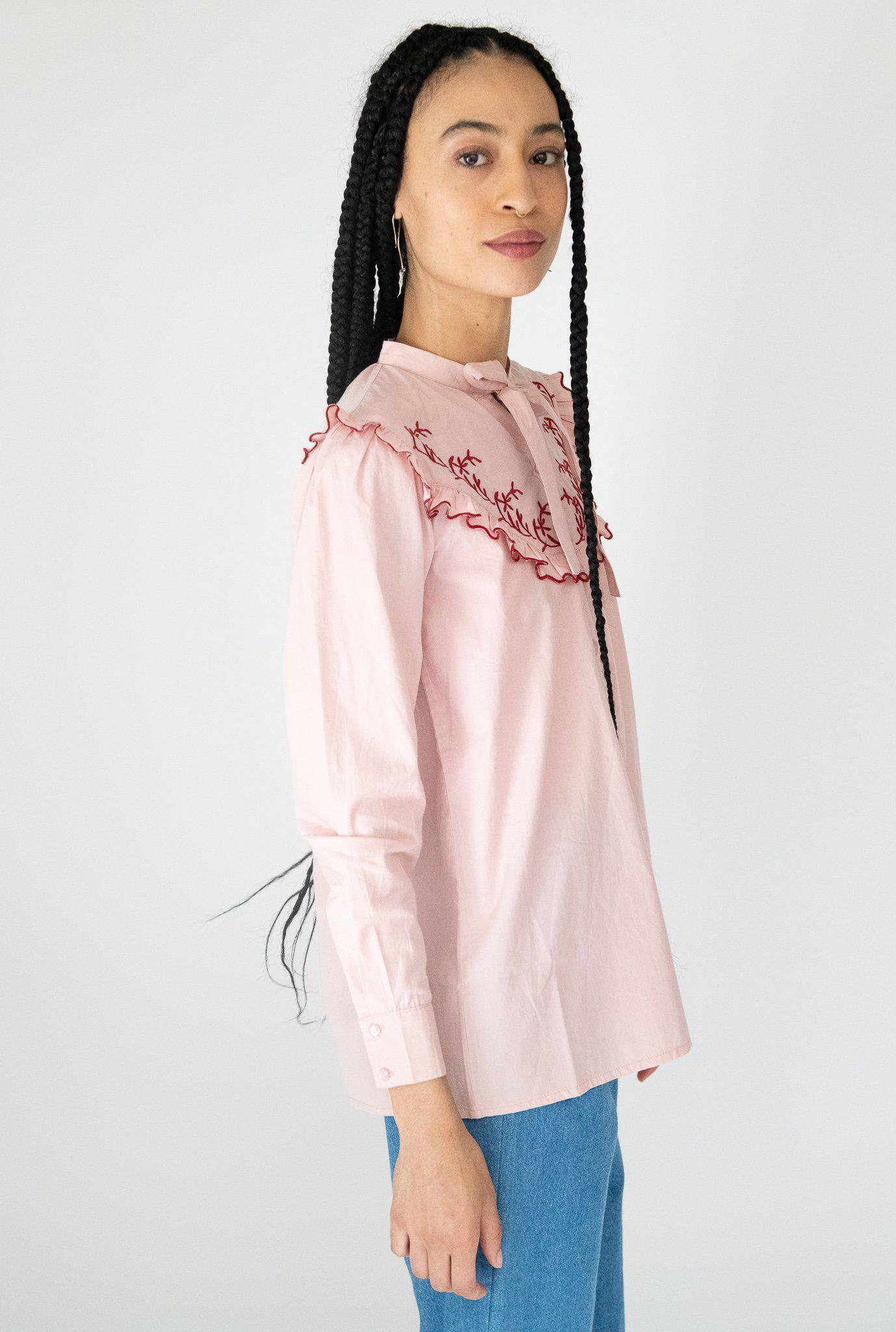 Lena Blouse in Pink 3