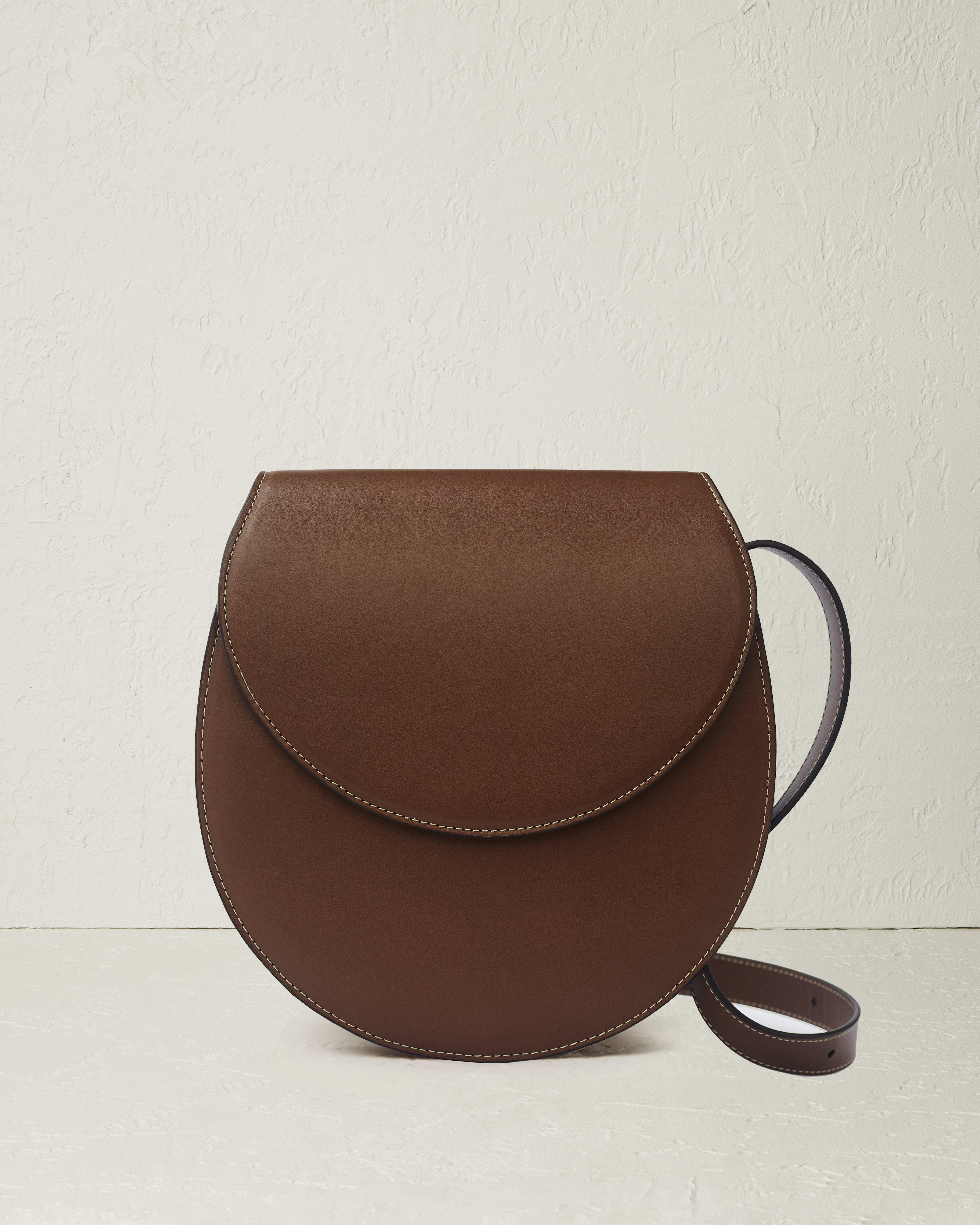 The Large Saddle in Nappa Leather