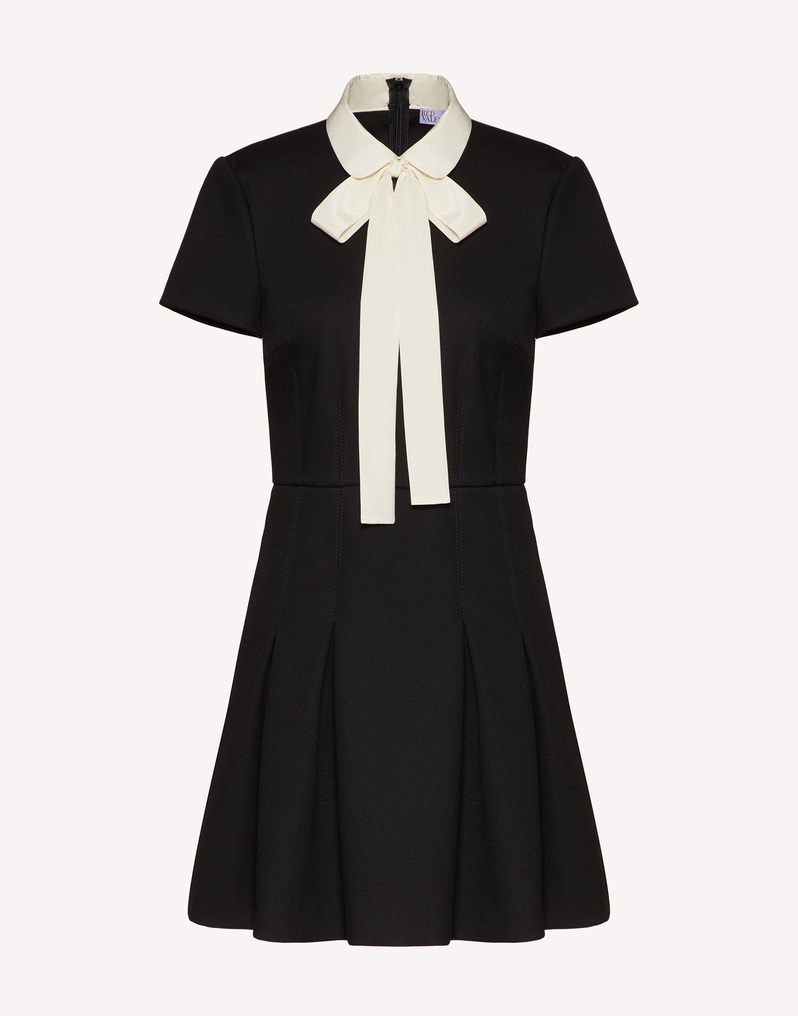TRICOTINE DRESS WITH COLLAR DETAIL 4