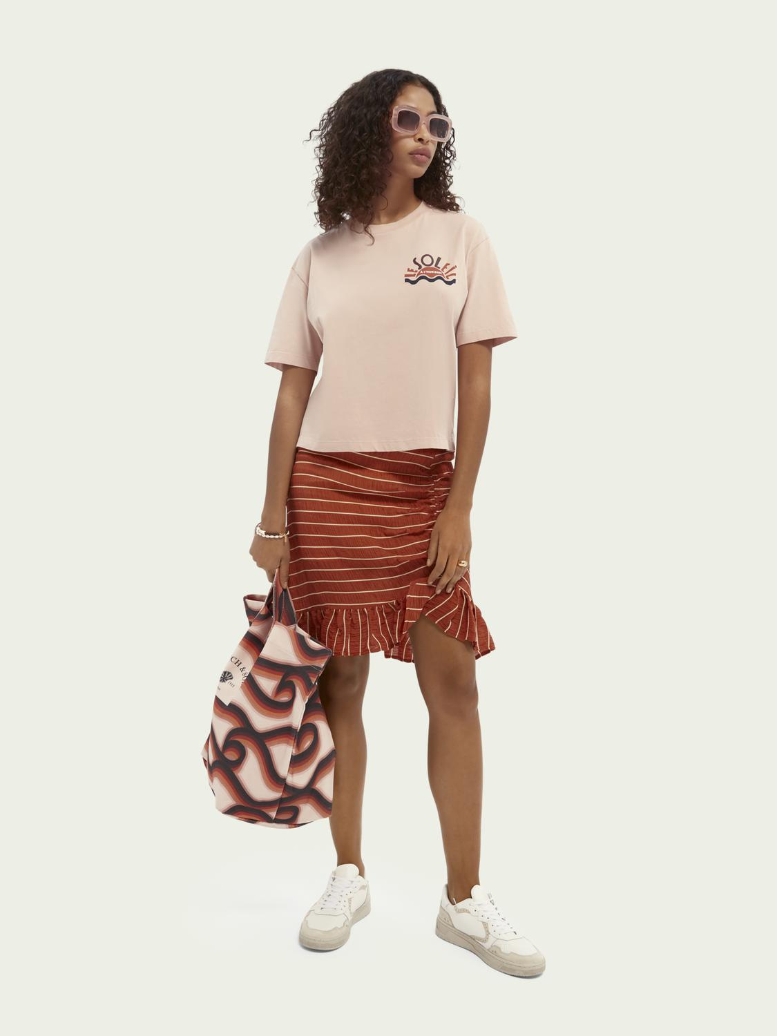 Relaxed-fit graphic organic cotton T-shirt 1