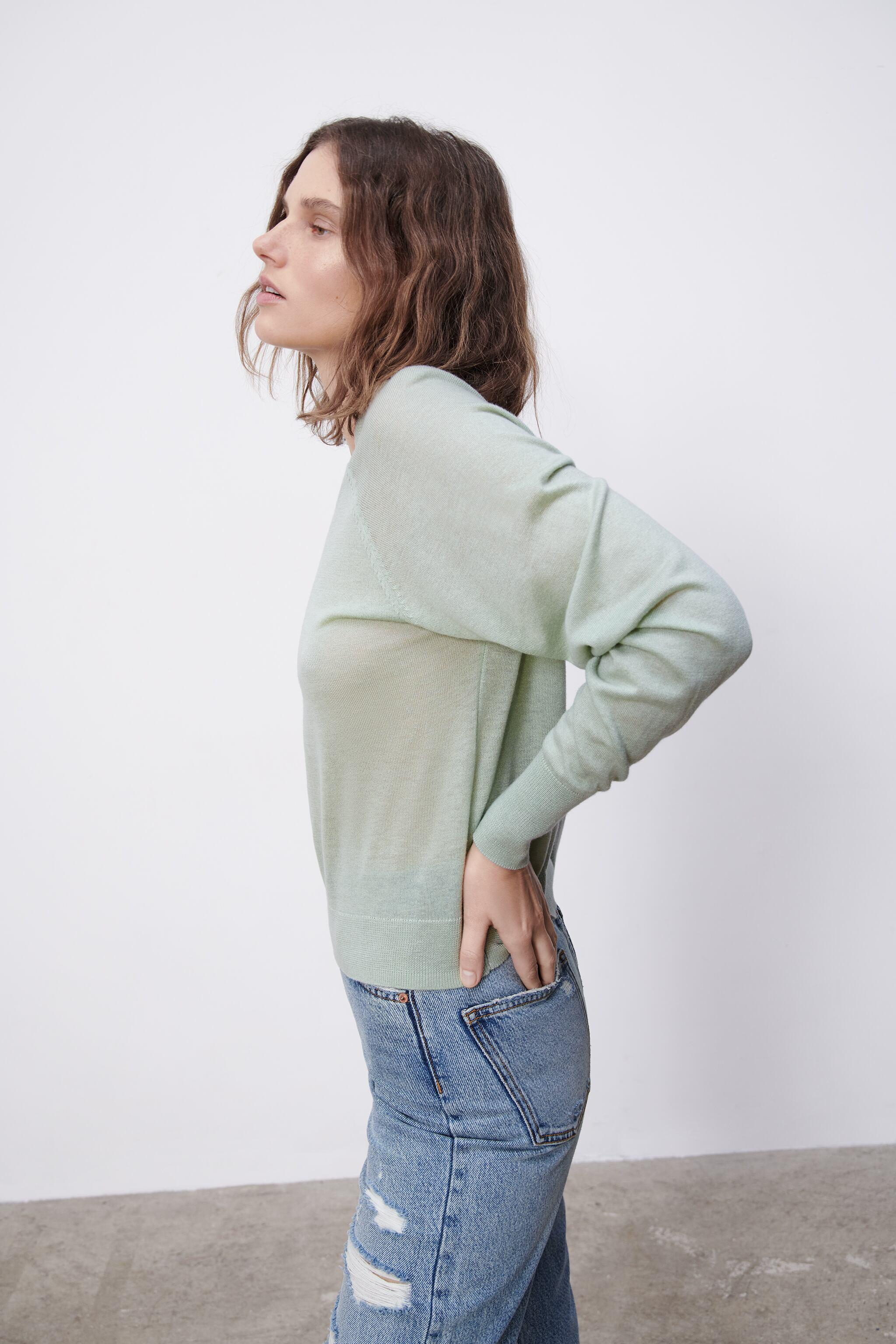 COMBINATION KNIT SWEATER 2