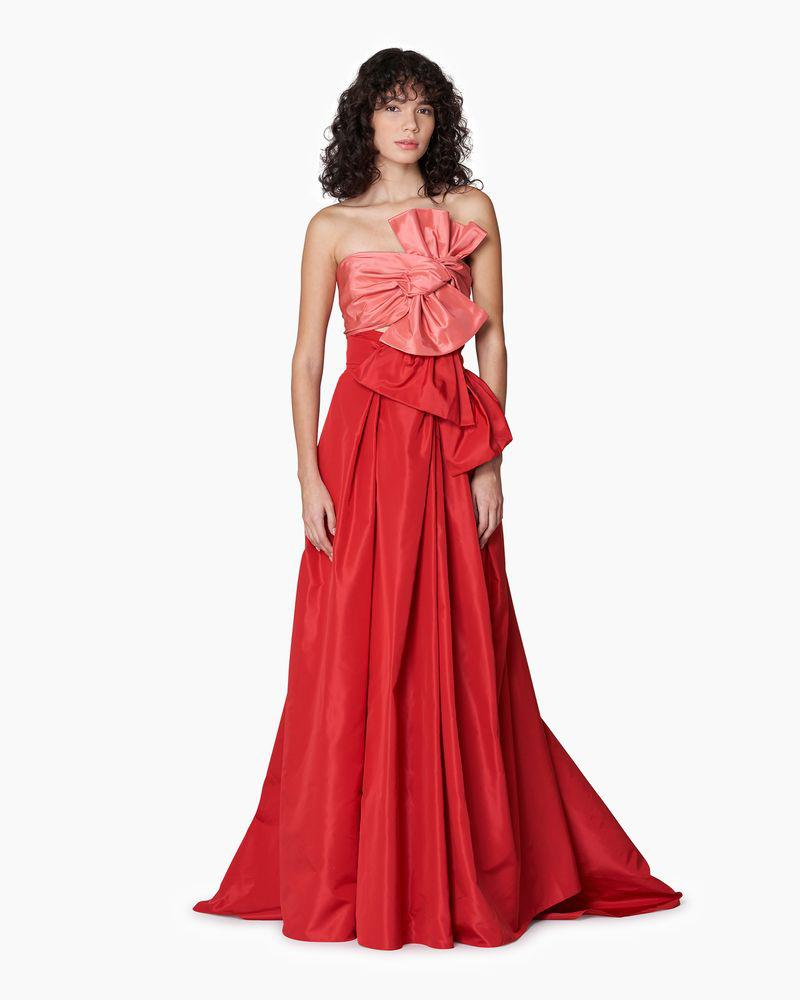 Double Wrap Gown