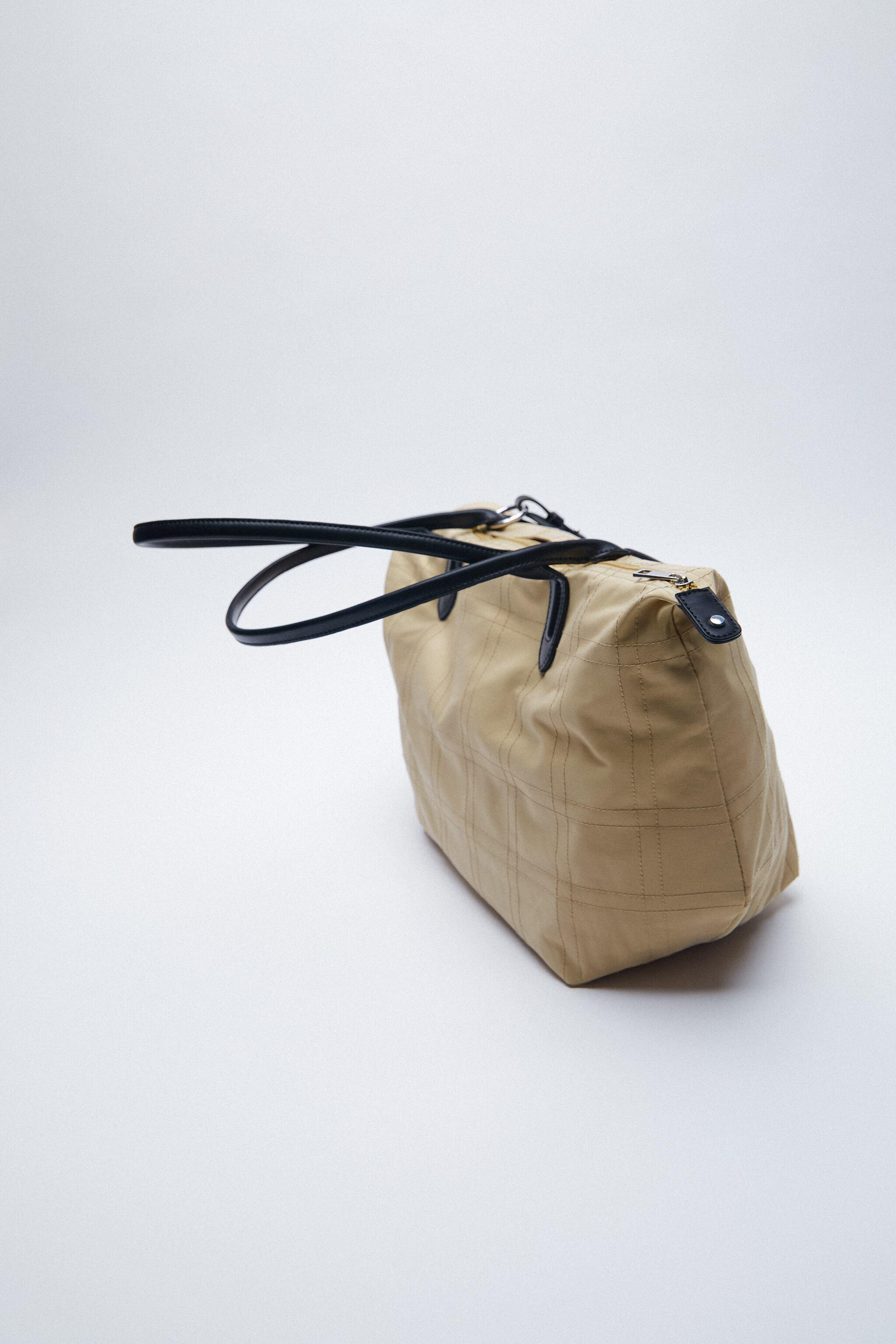 NYLON TOTE BAG WITH TOPSTITCHING 6