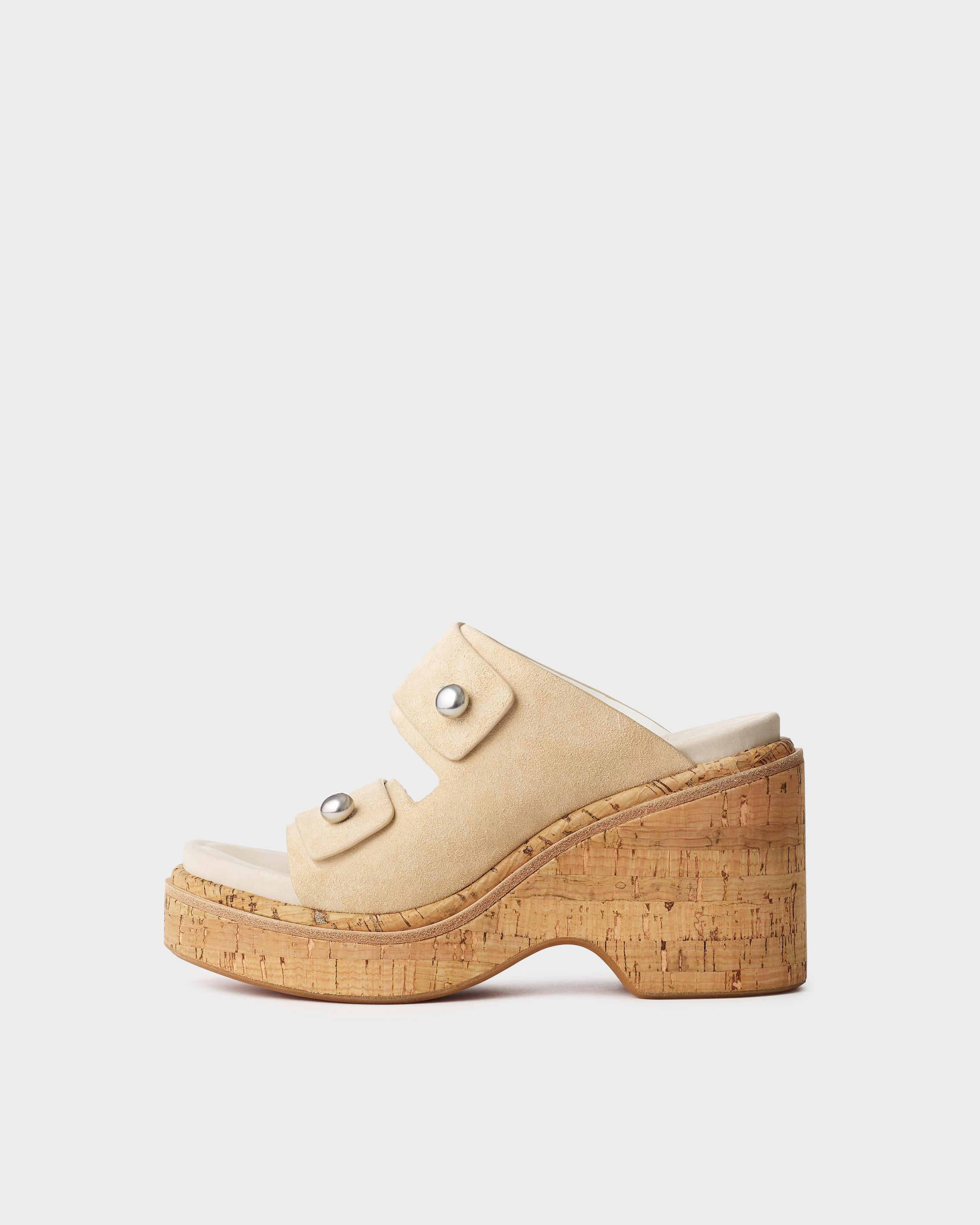 Sommer wedge - suede