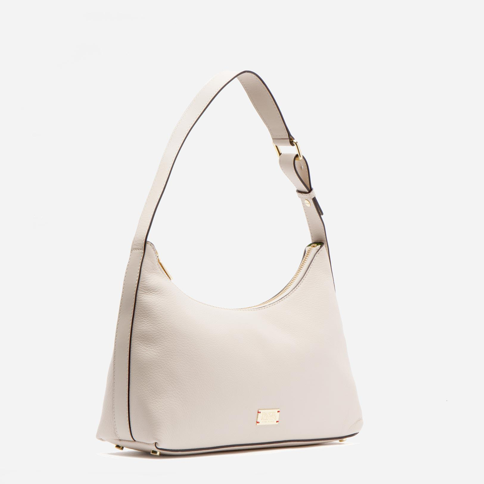 Laura Hobo Tumbled Leather Oyster 1