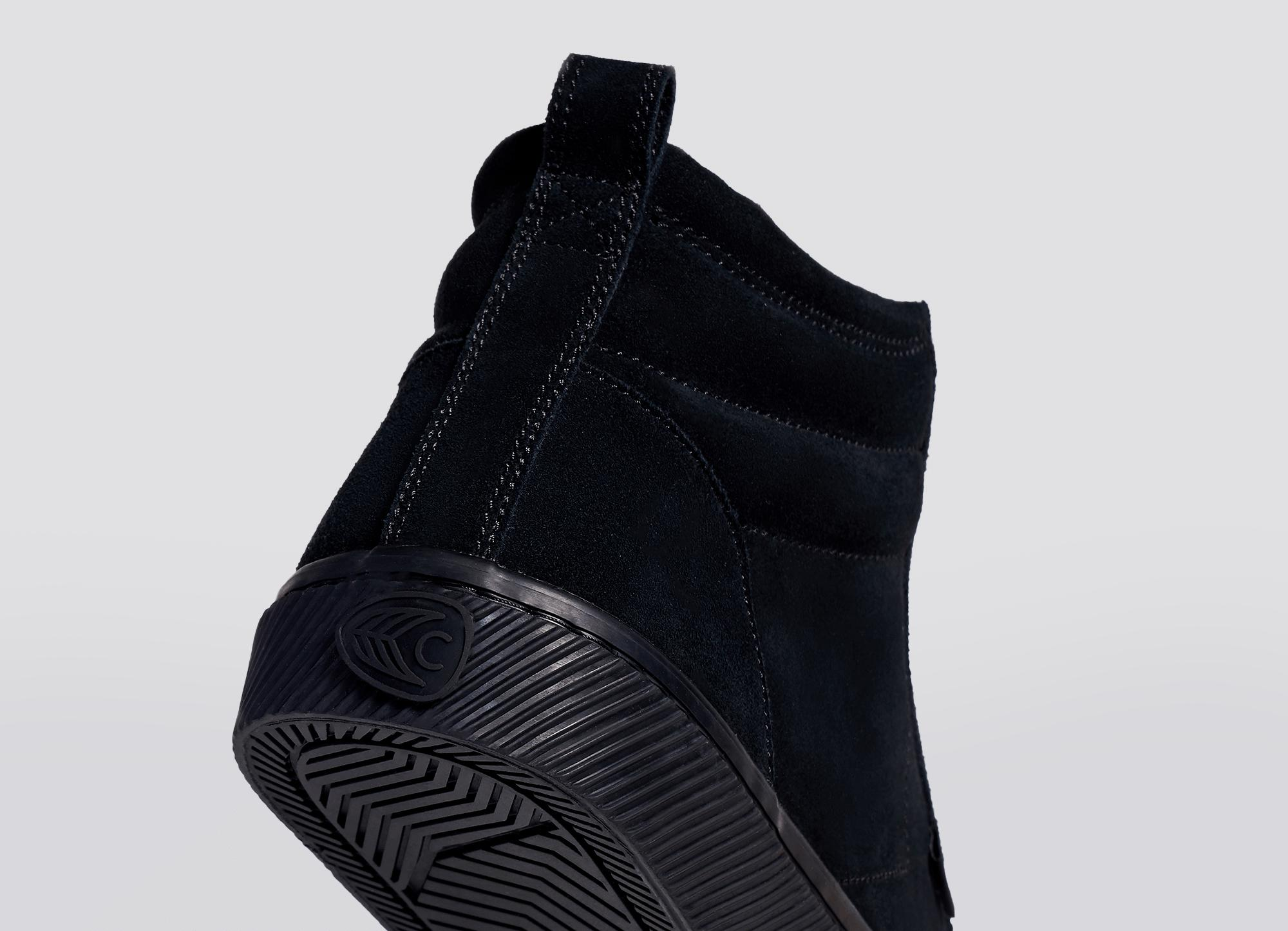 All Black Suede 5