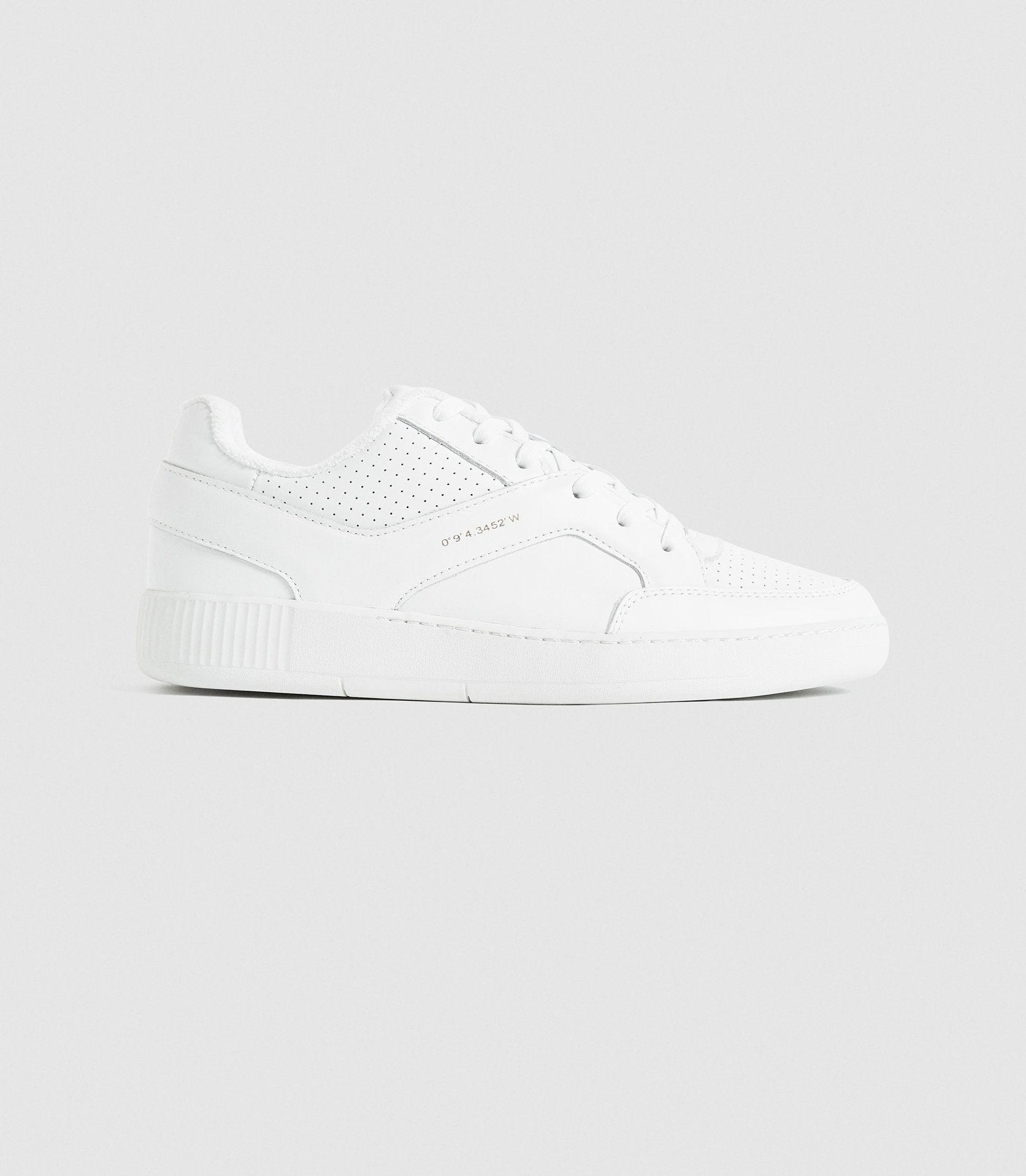 GRENDON - LEATHER TRAINERS