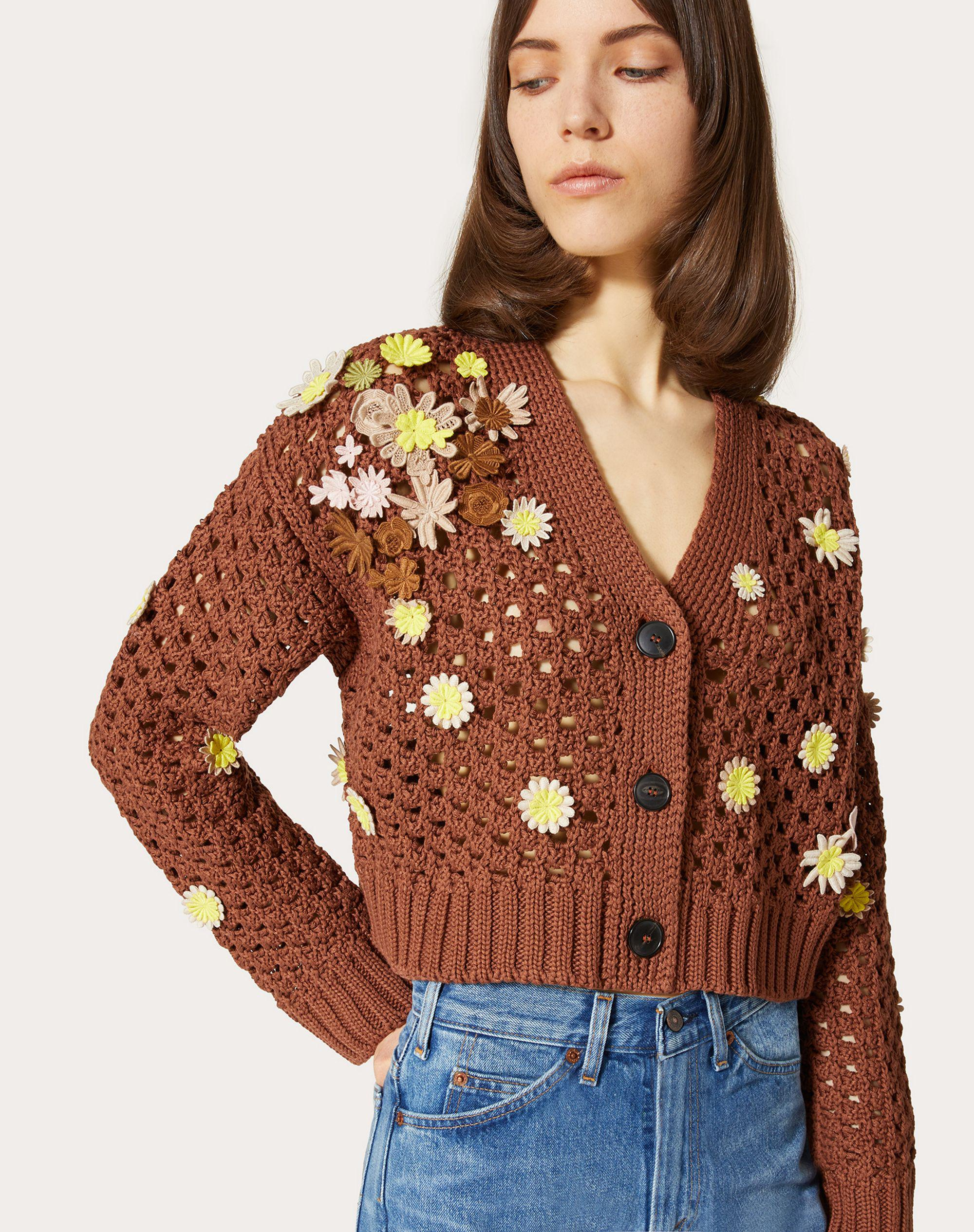 EMBROIDERED COTTON CARDIGAN 3