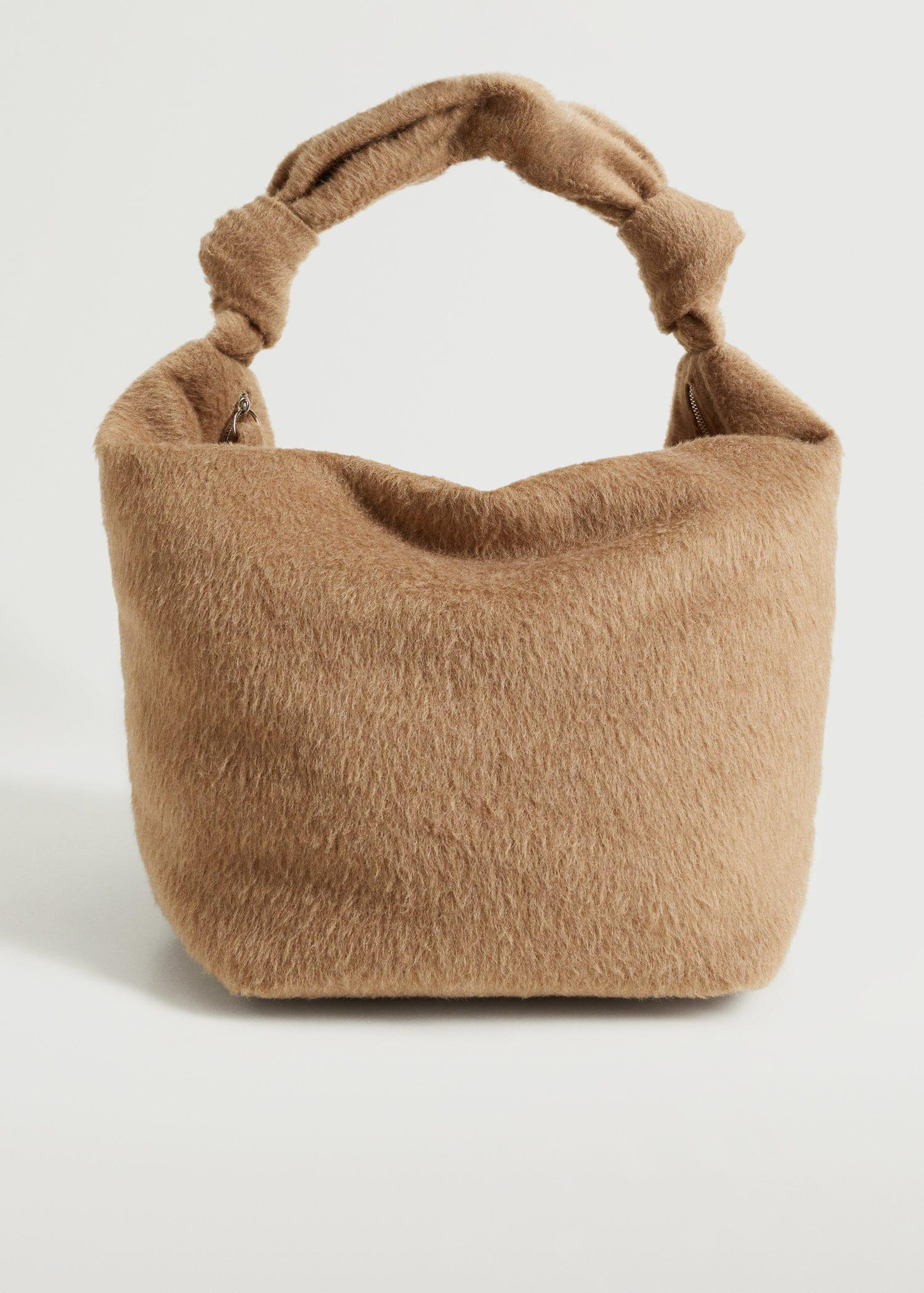 Bag with knot strap