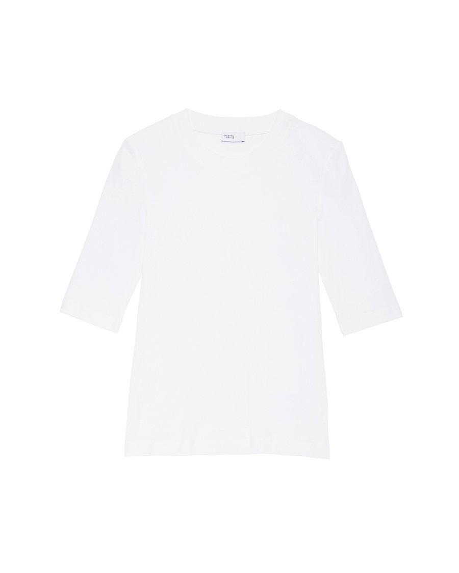 Cropped Sleeve T-Shirt 7