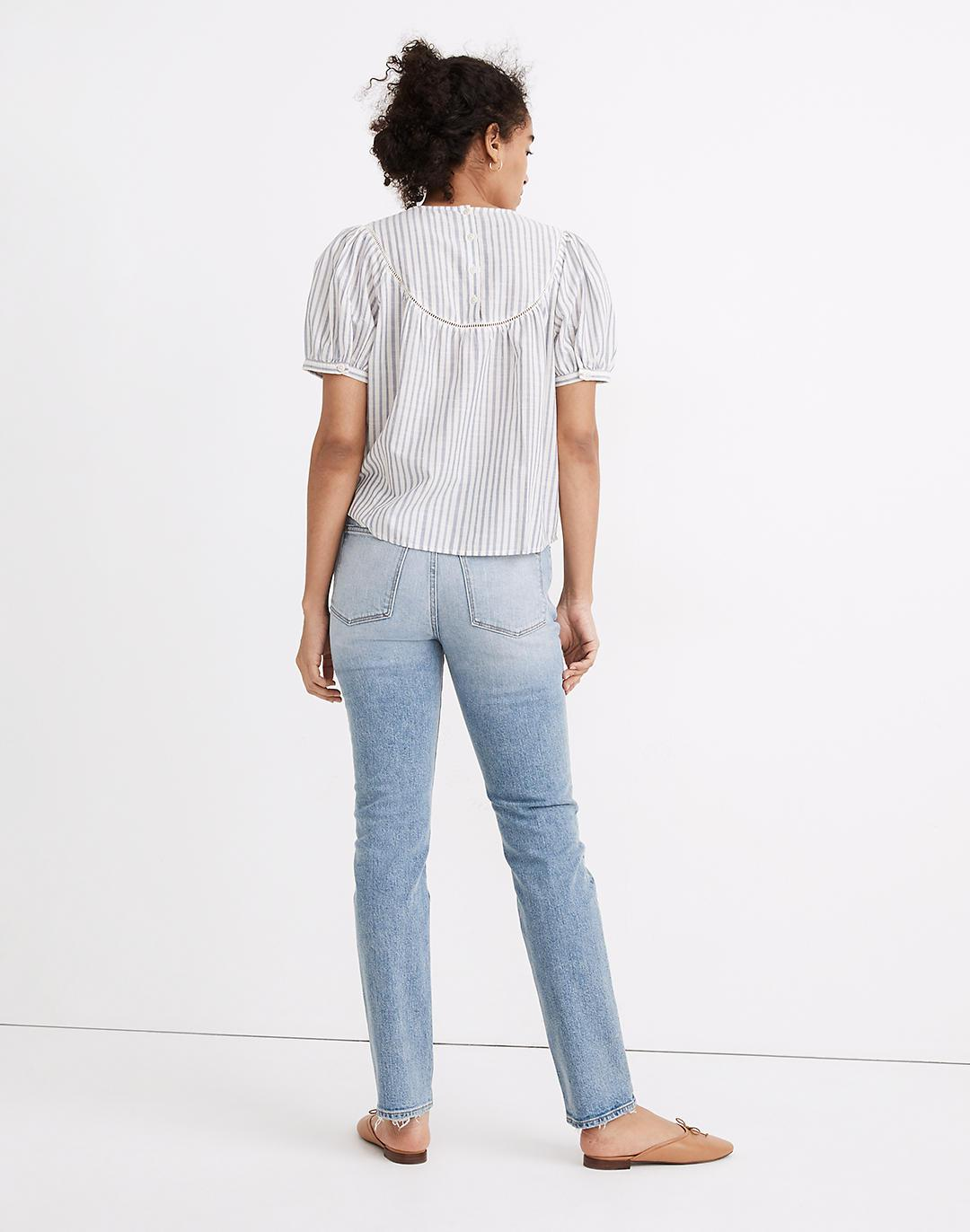 Tomboy Straight Jeans in Glover Wash 2