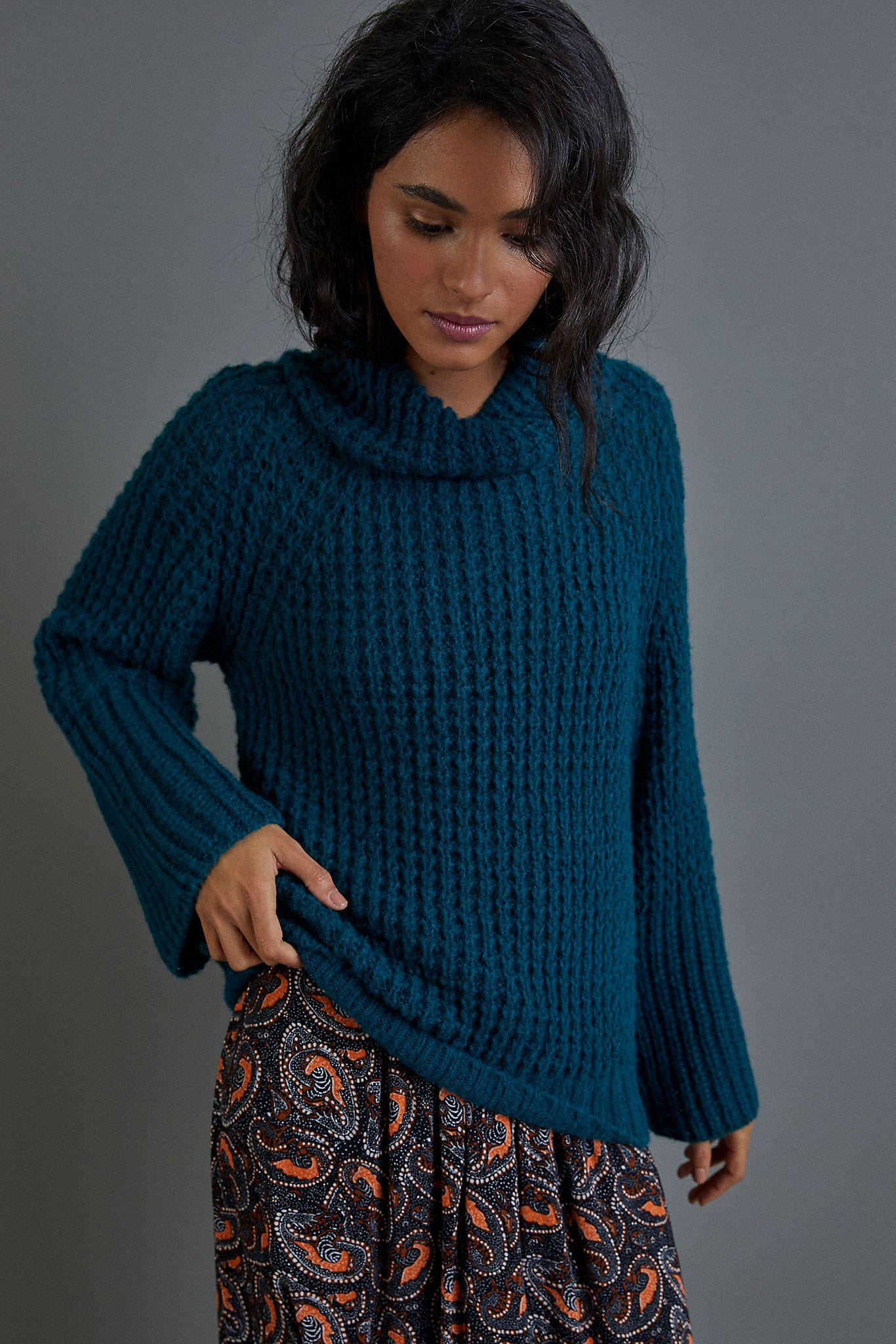 Maeve Dionne Bell-Sleeved Sweater 1