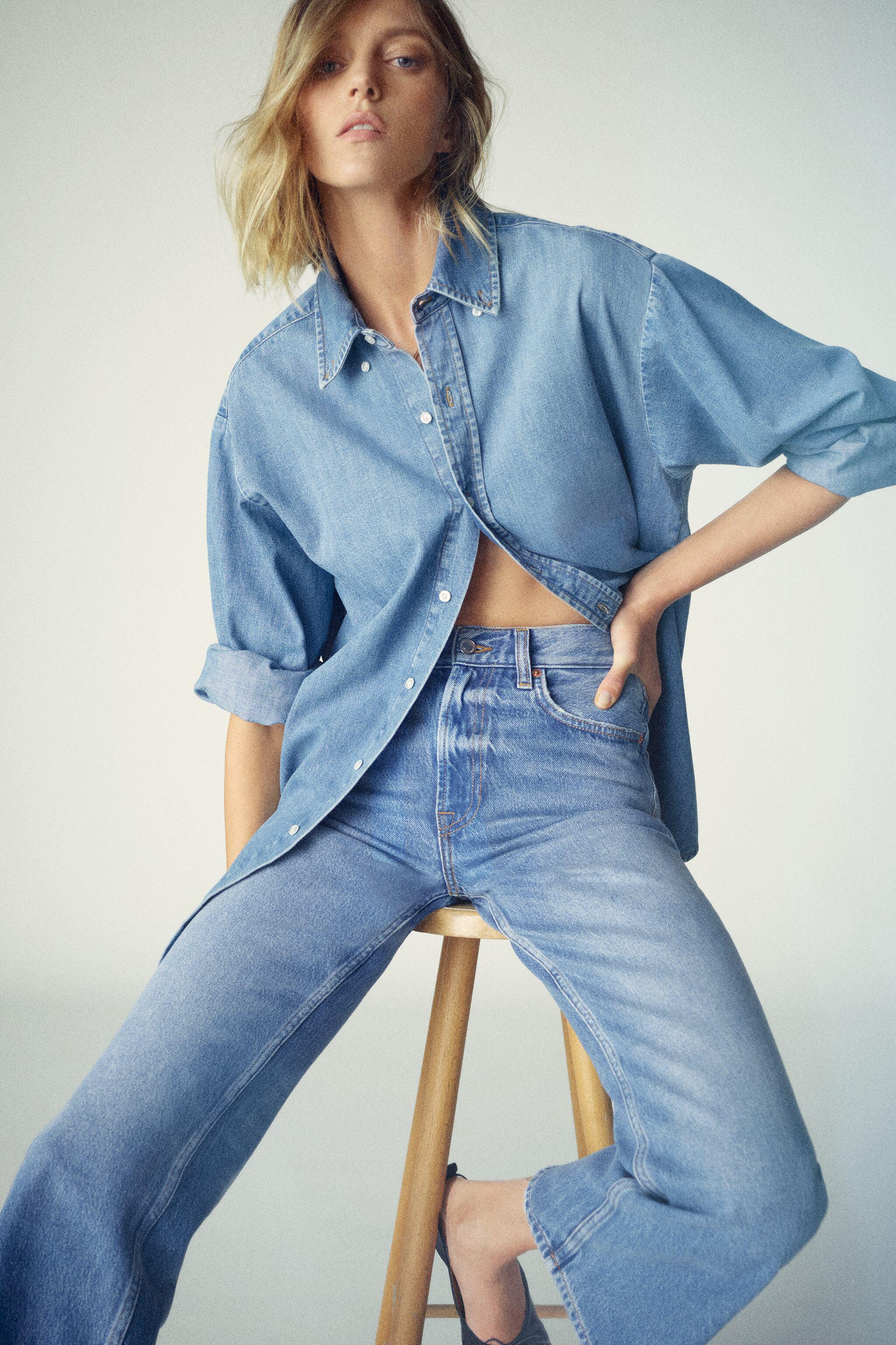 ZW THE ZIA FLARE JEANS 1