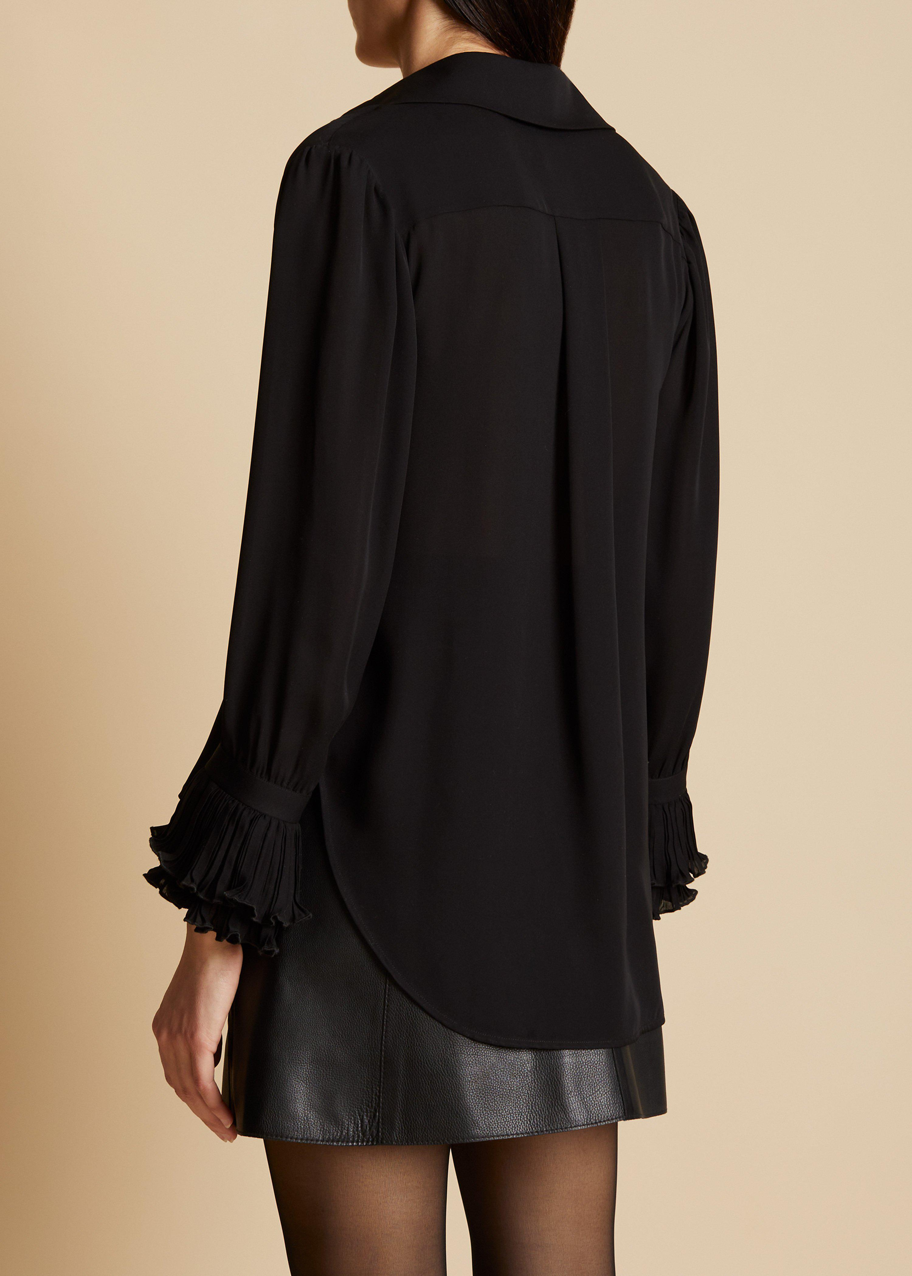 The Mary Top in Black 2
