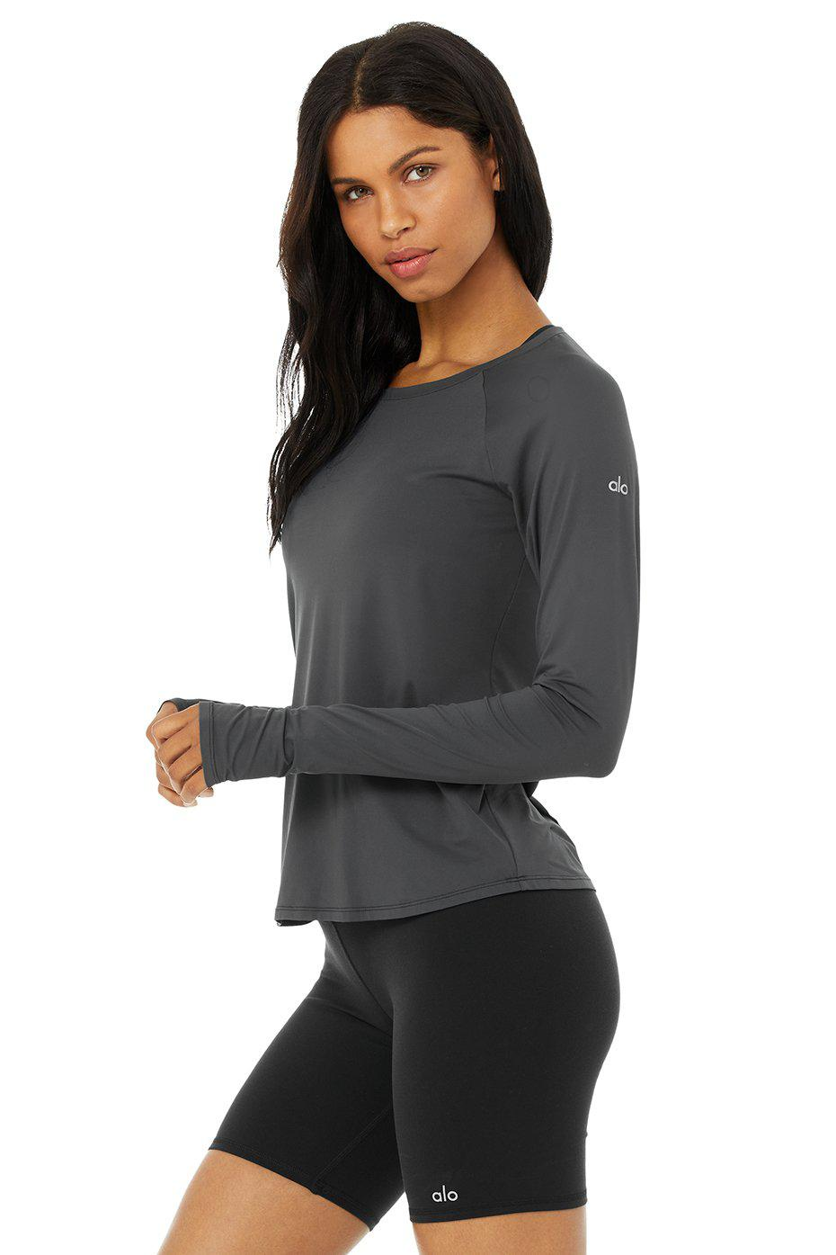 Pulse Long Sleeve - Anthracite 1