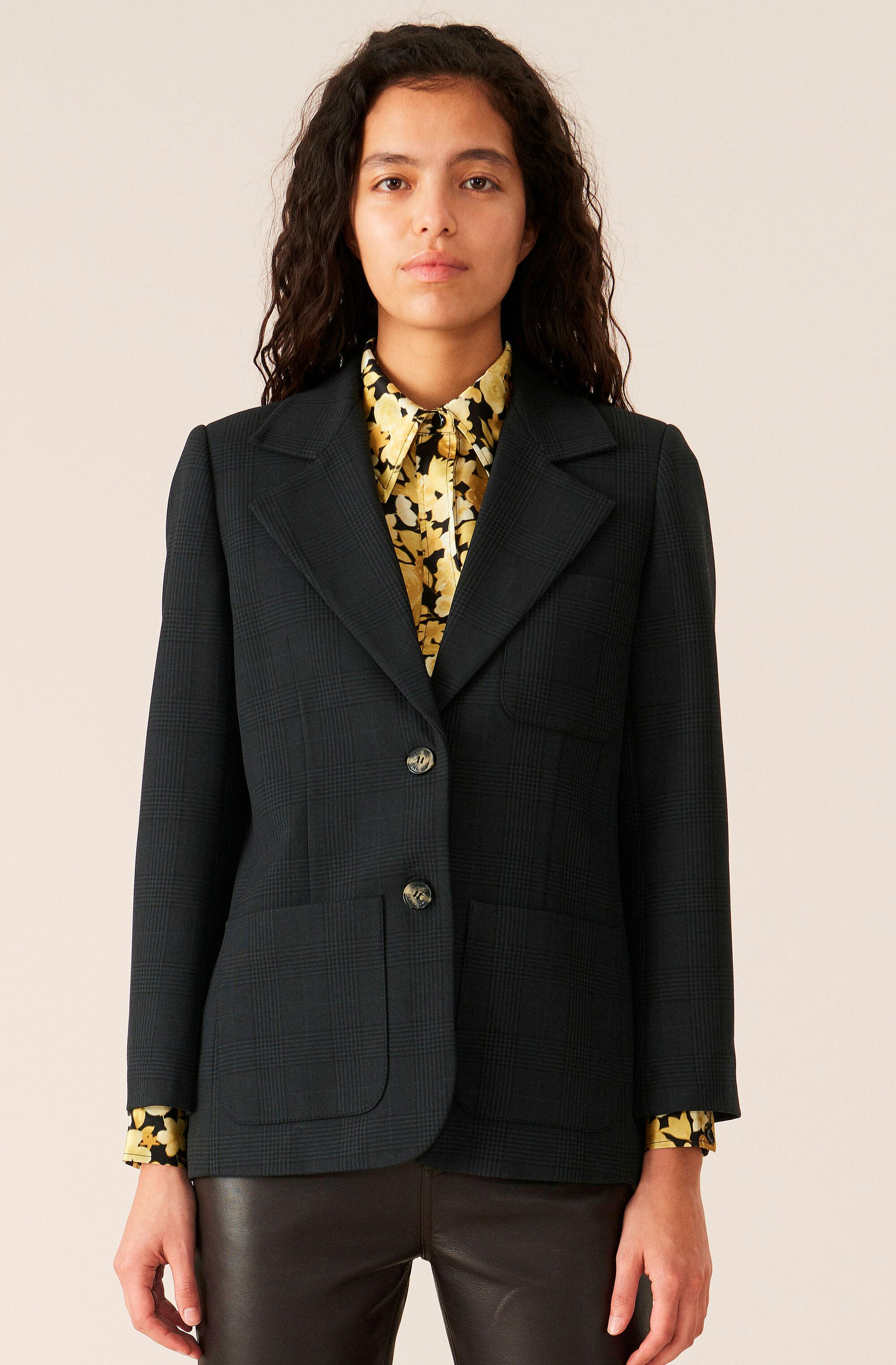 Suiting Fitted Blazer 0