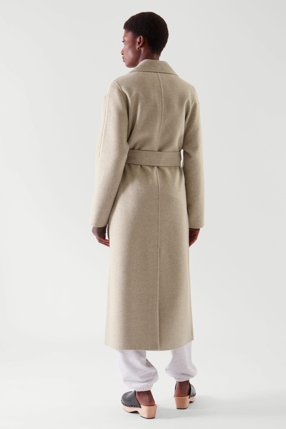 BELTED WRAP COAT 8