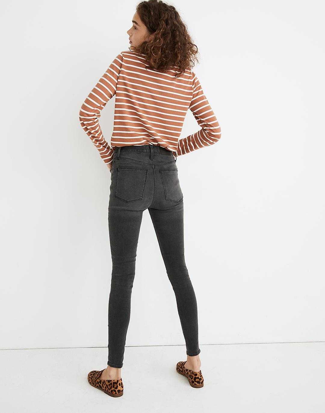 """9"""" Mid-Rise Roadtripper Supersoft Jeans in Ashmont Wash 2"""