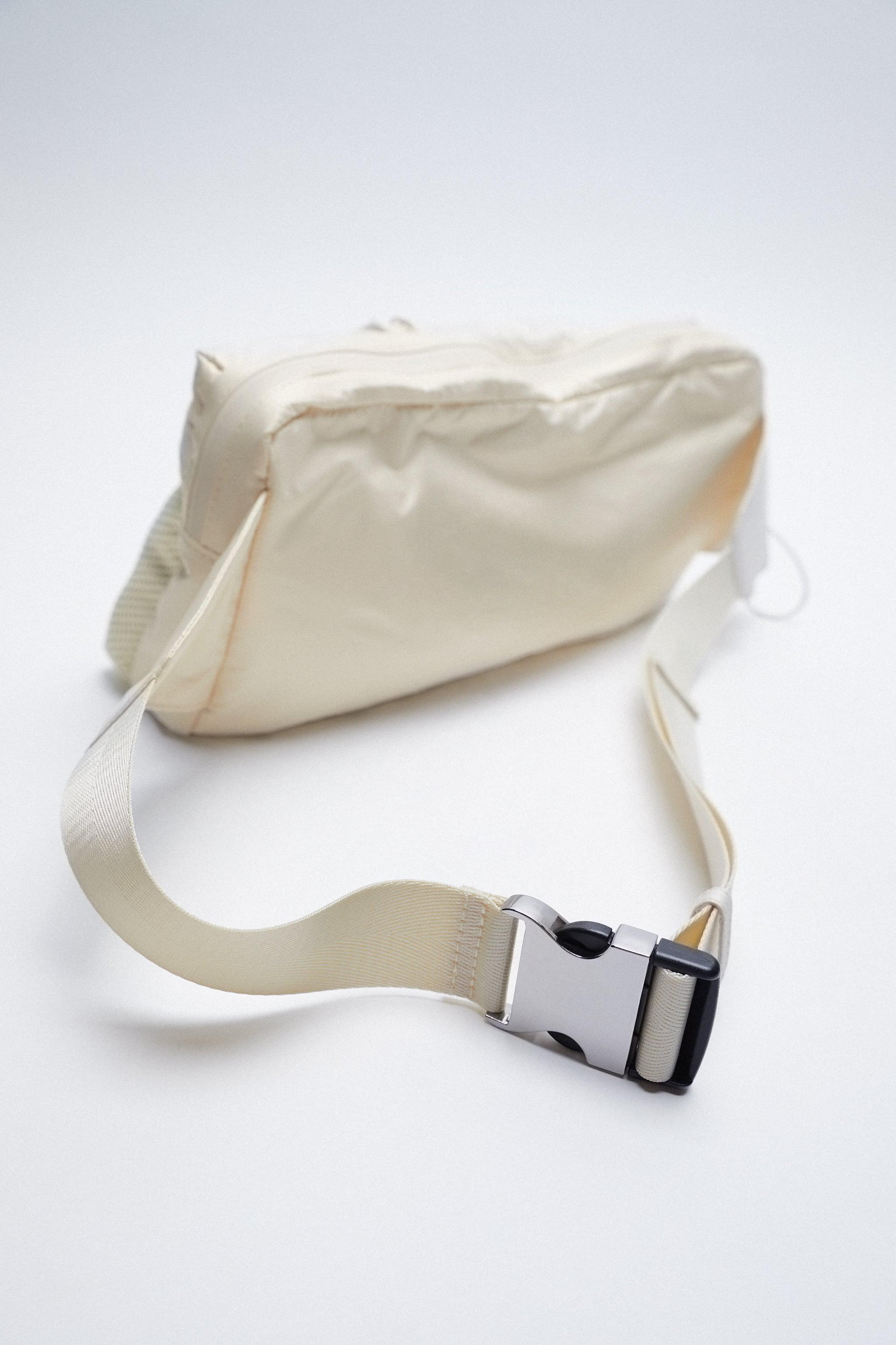 TECHNICAL FABRIC BELT BAG WITH POCKETS 2