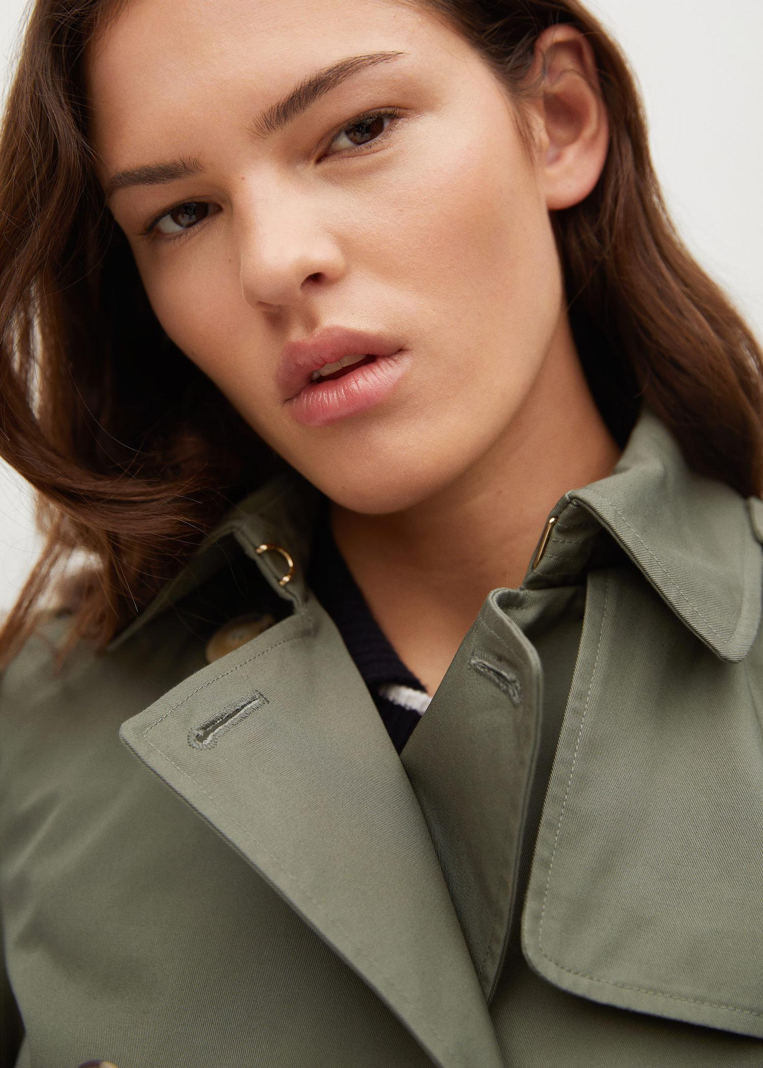 Classic cotton trench coat 4
