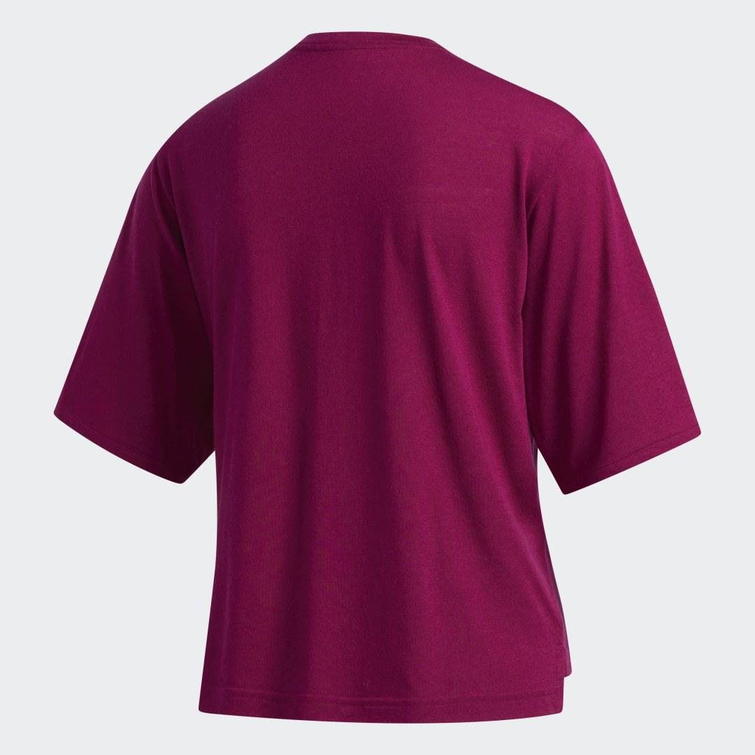 Holiday Tee Power Berry XL - Womens Training T Shirts 5