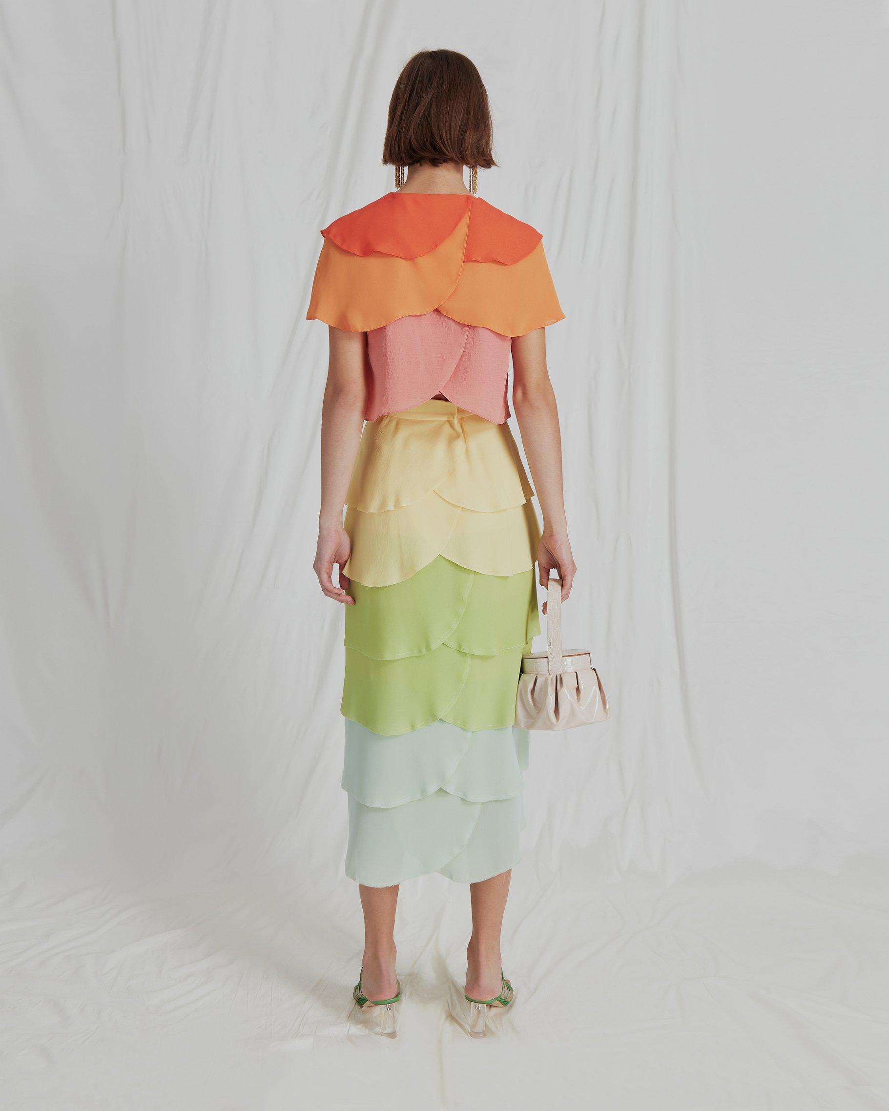 Jude Blouse Crepe Ombre Mix - SPECIAL PRICE 3