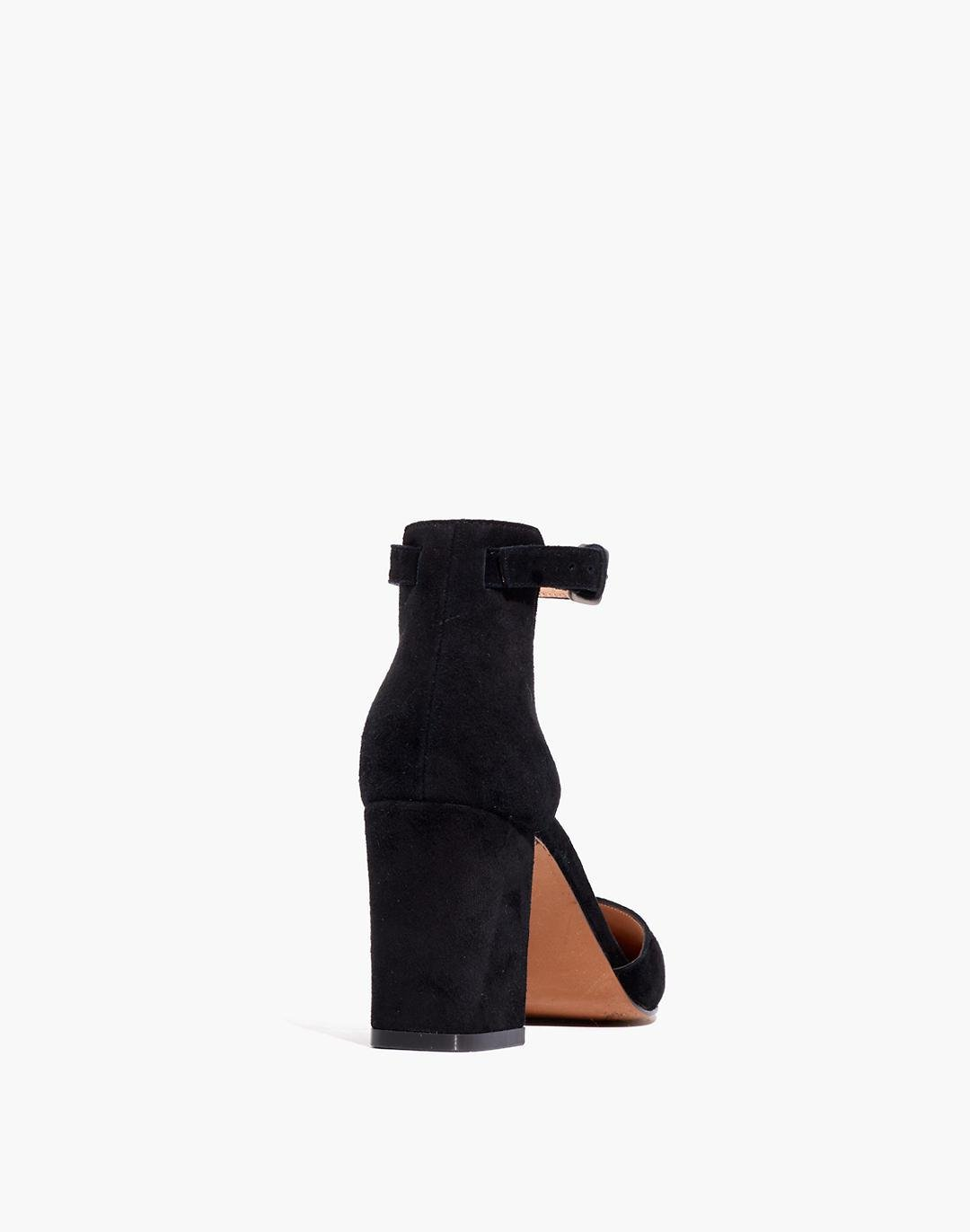The Dove High-Heel Sandal in Suede 2