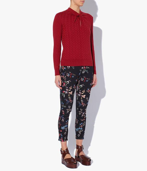 Rae Jumper Cotton Cashmere Red
