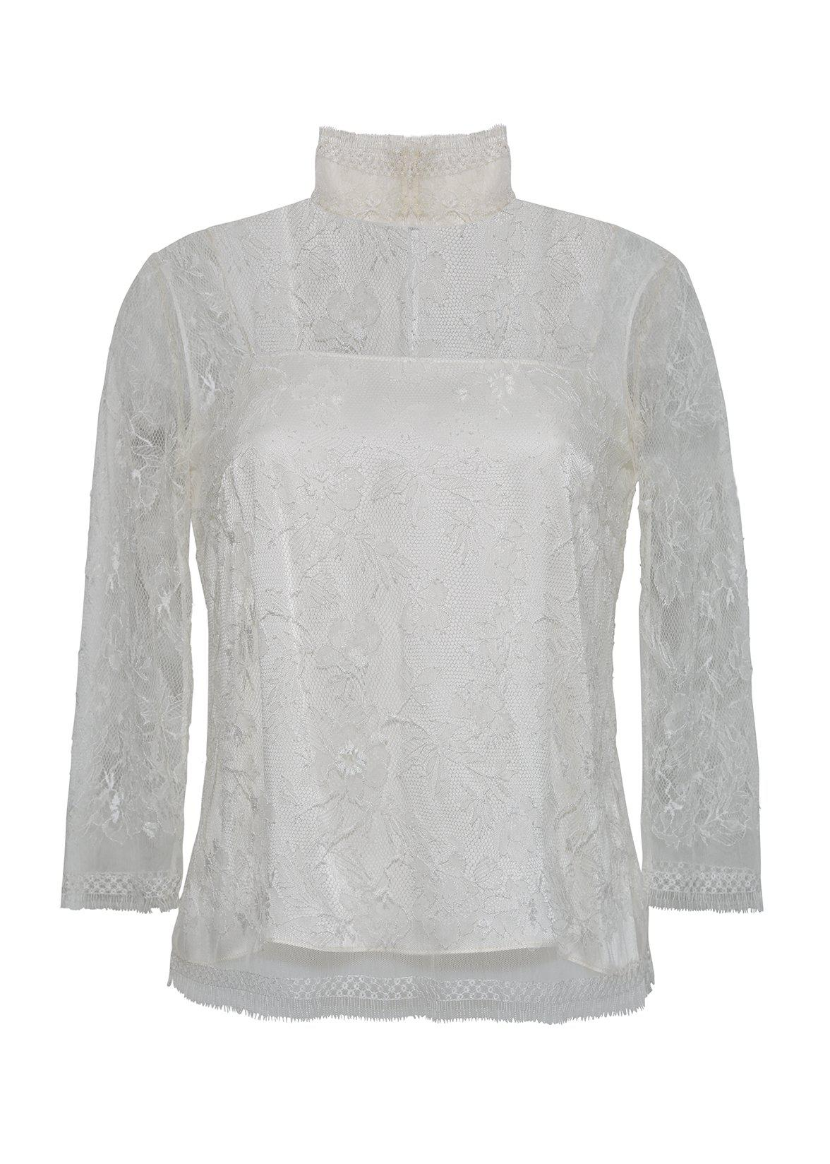 TURTLENECK IN CHANTILLY LACE 1
