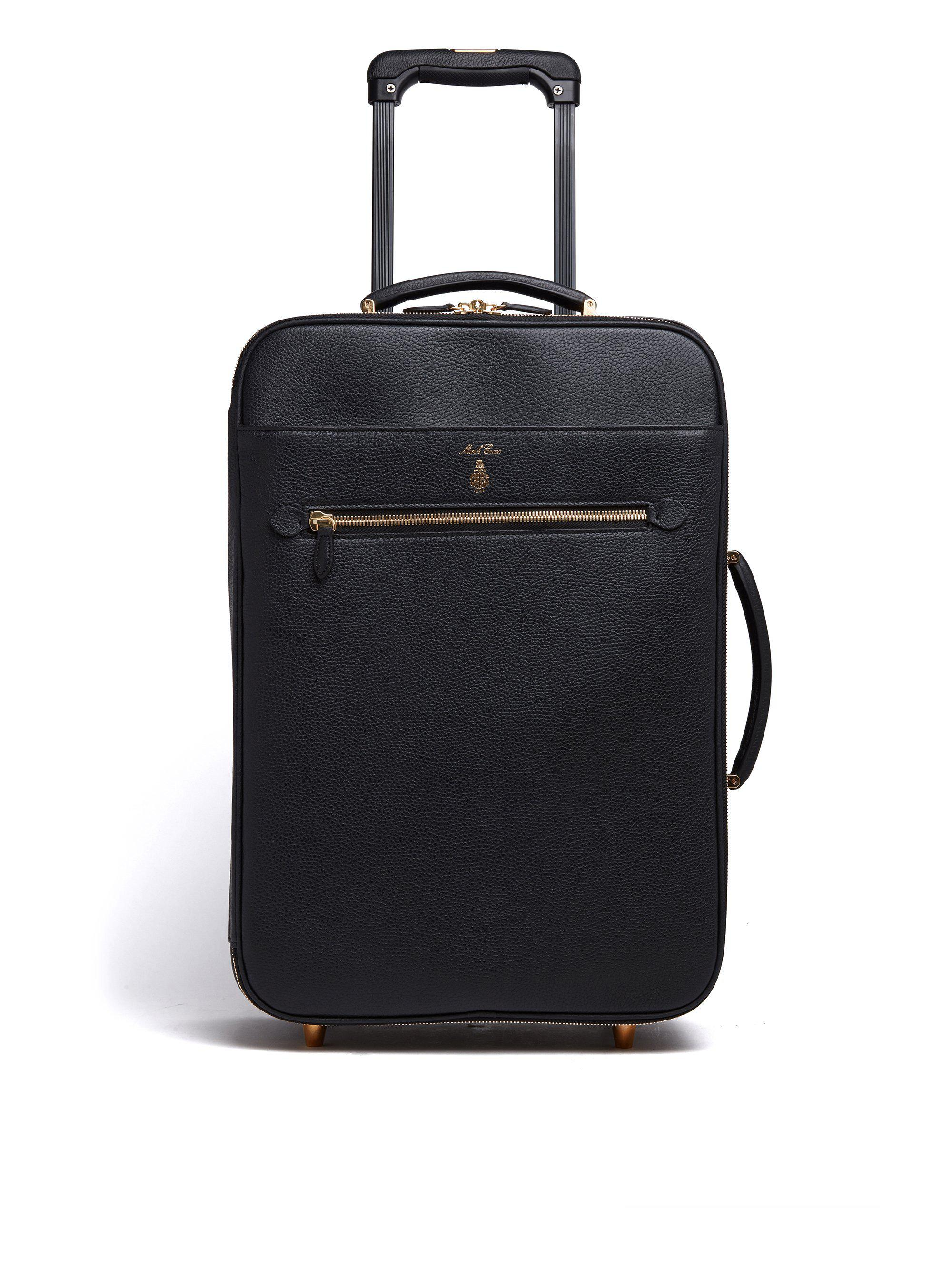 """22"""" Leather Trolley"""