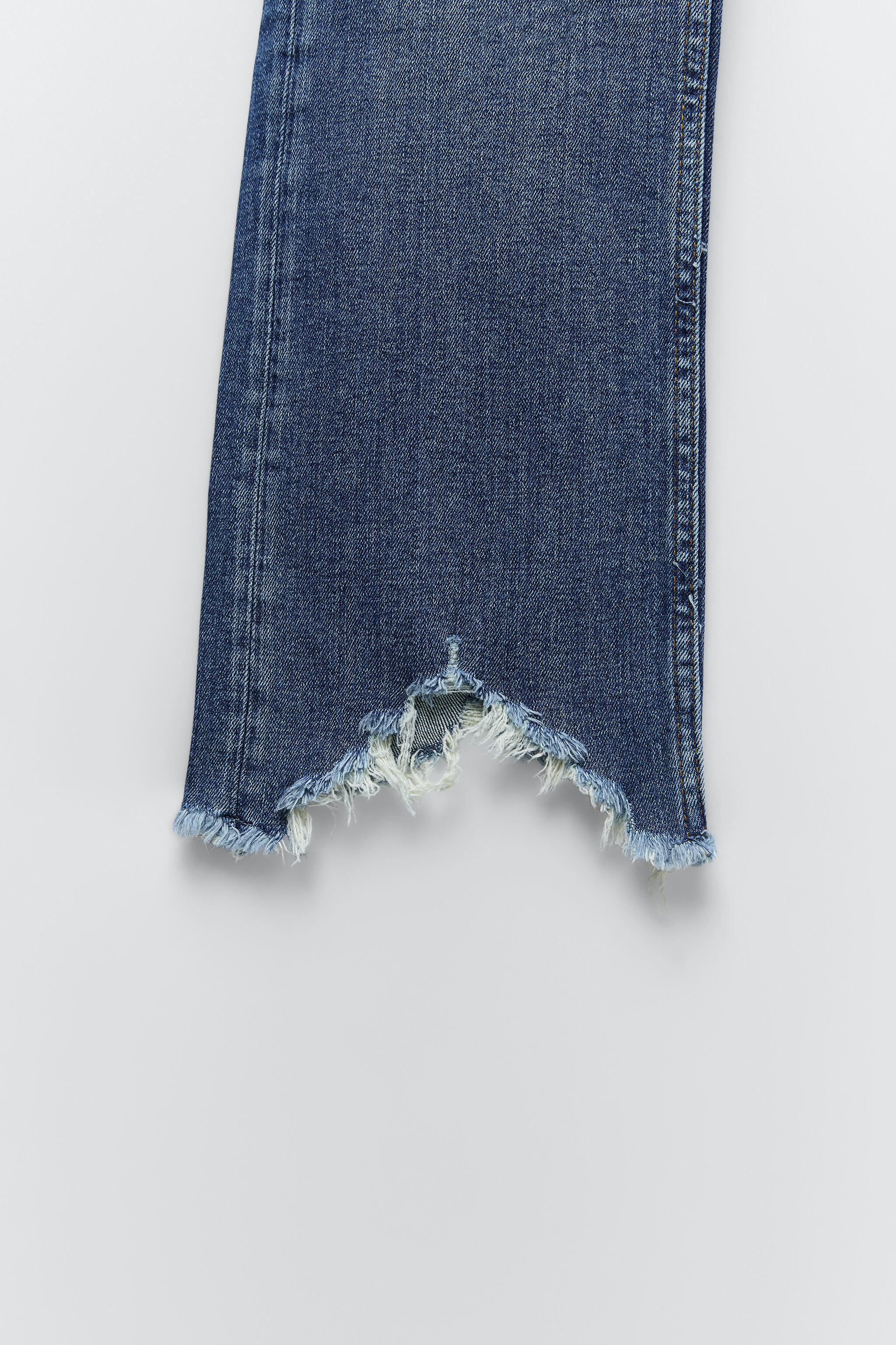 ZW THE BOOTCUT CROPPED JEANS 7