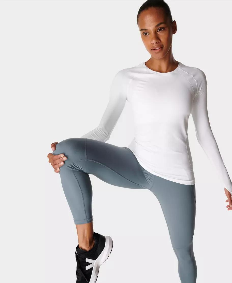 Athlete Seamless Workout Long Sleeve Top