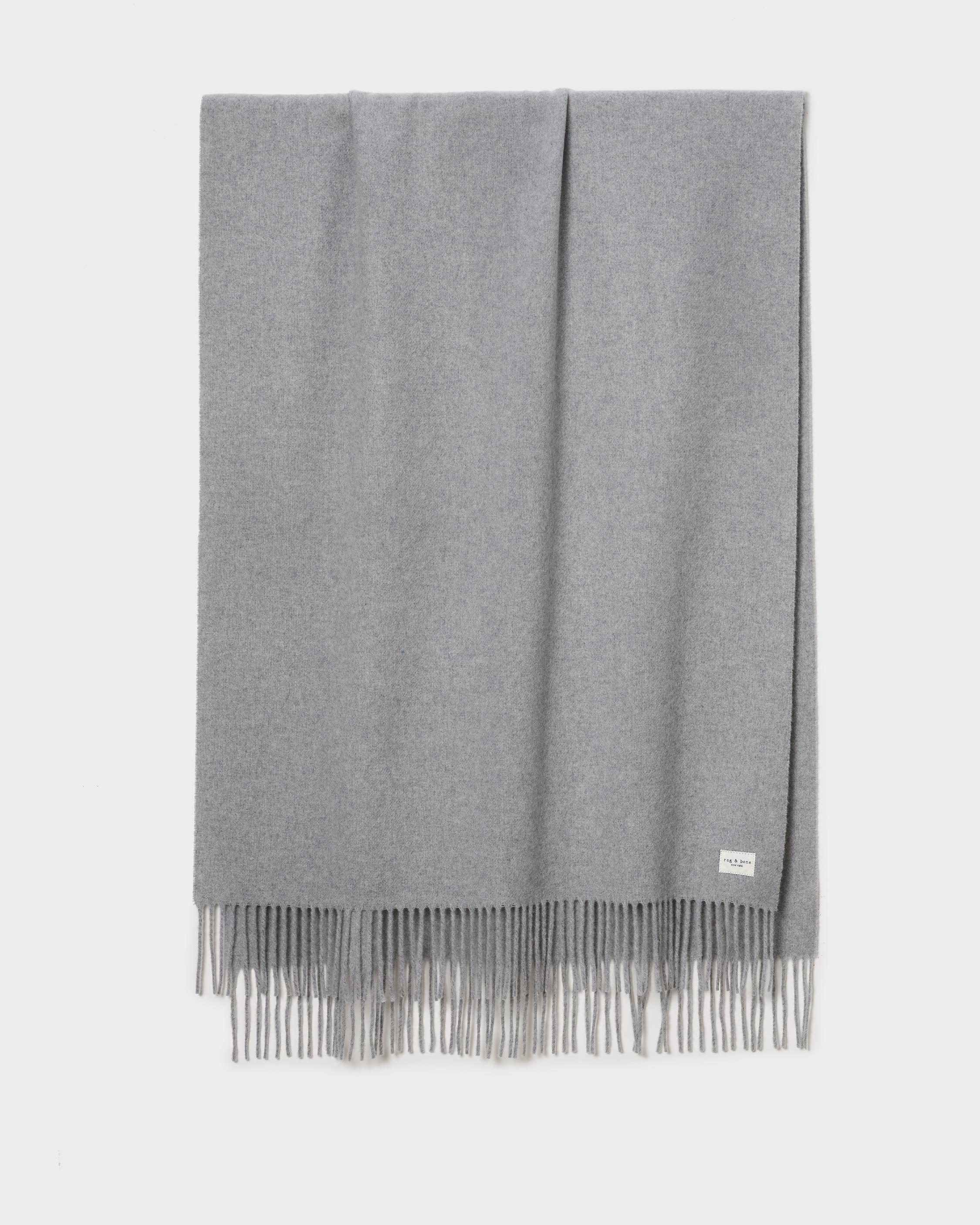 Addison recycled wool scarf