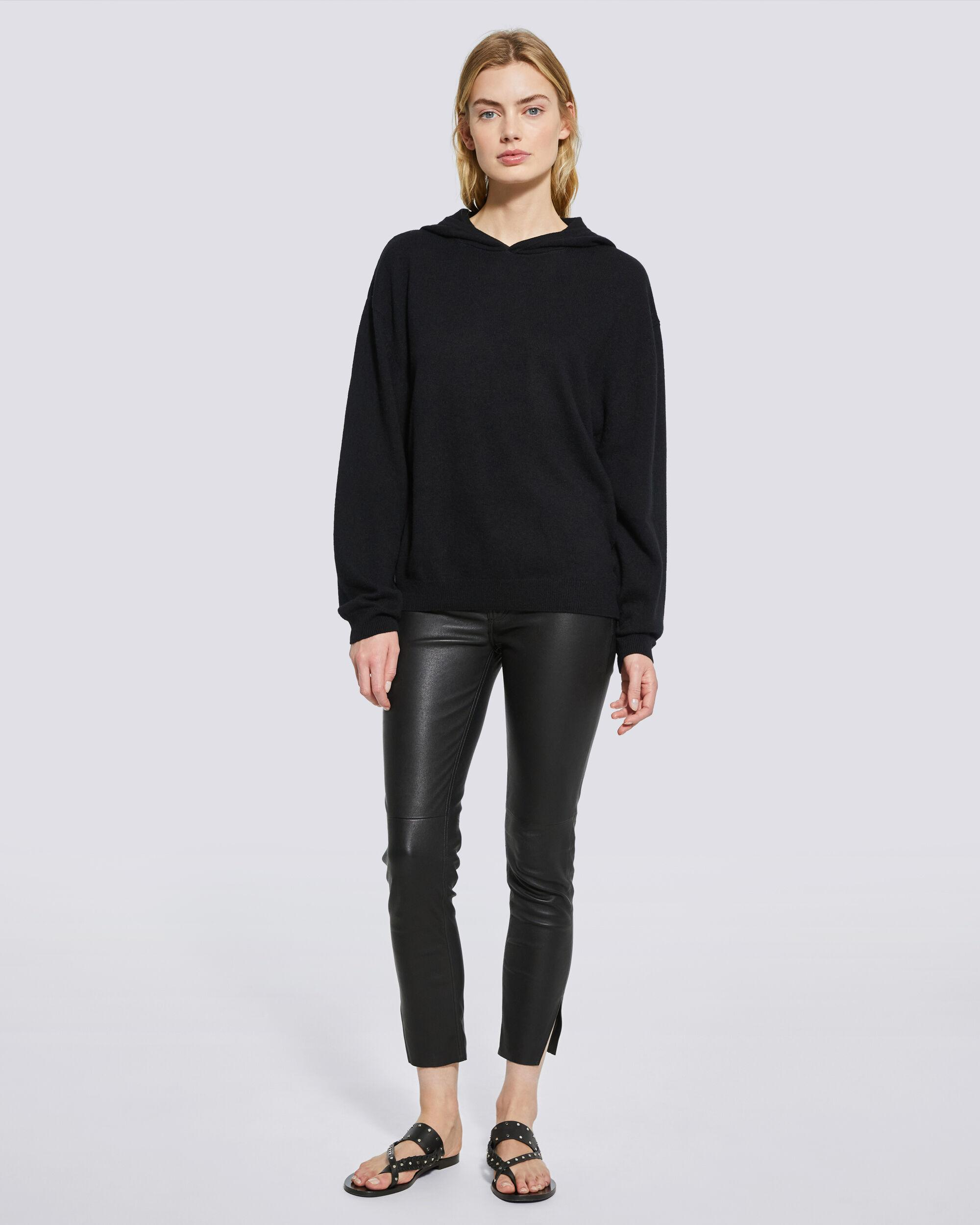TIAGO COTTON AND CASHMERE HOODED SWEATSHIRT
