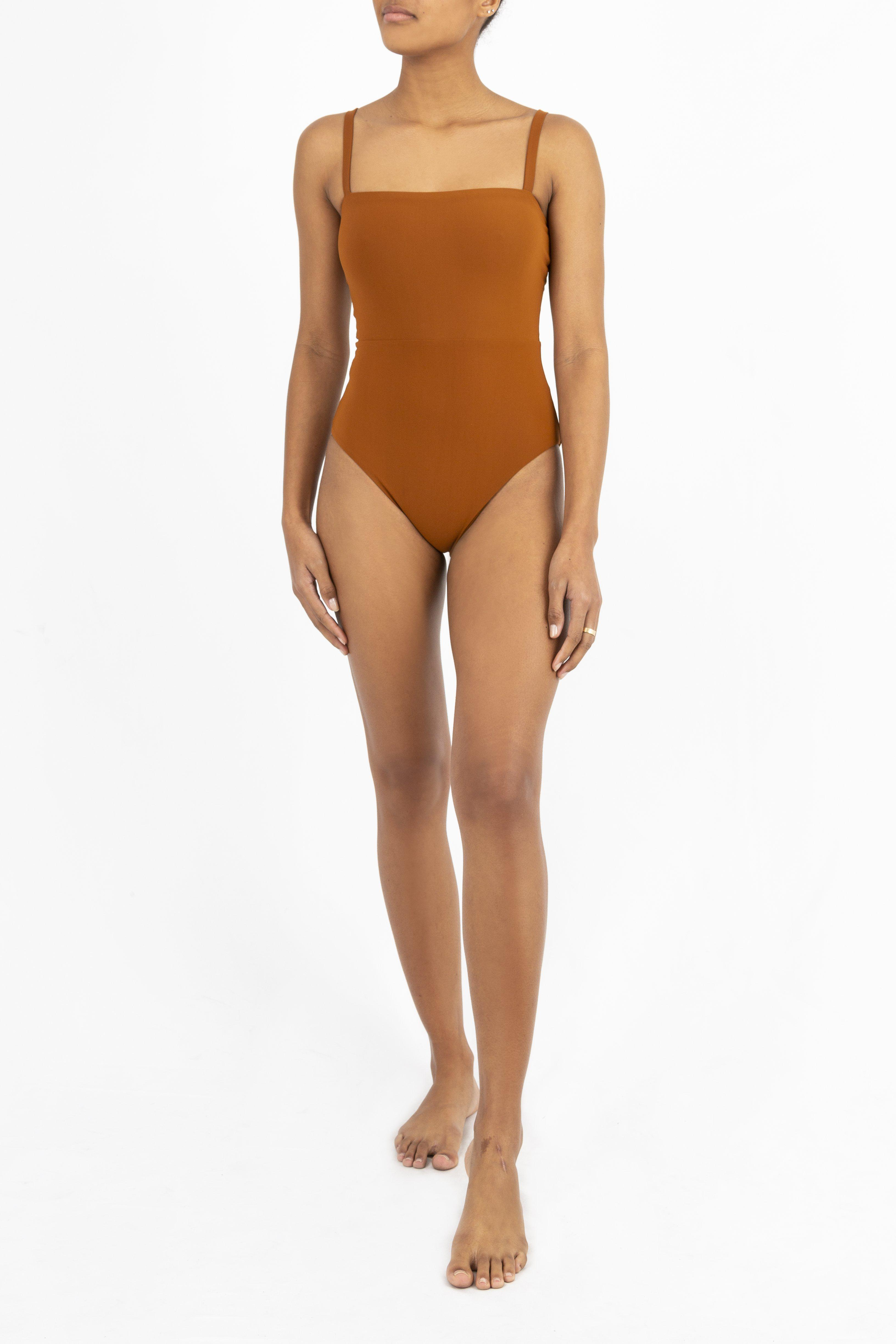 The Square Neck Maillot One Piece 3