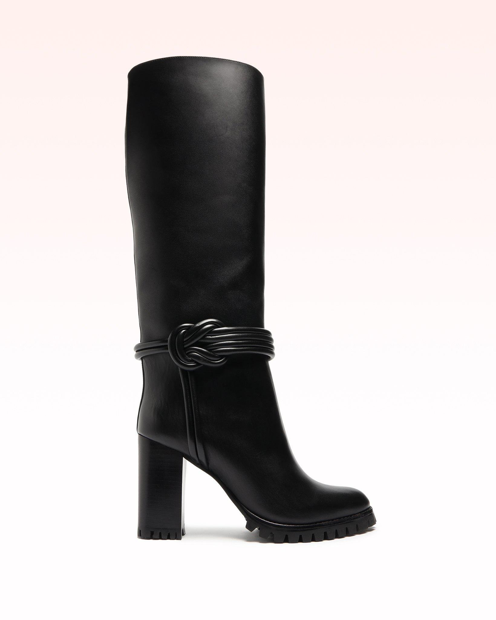 Vicky Knee Nappa Leather Boot