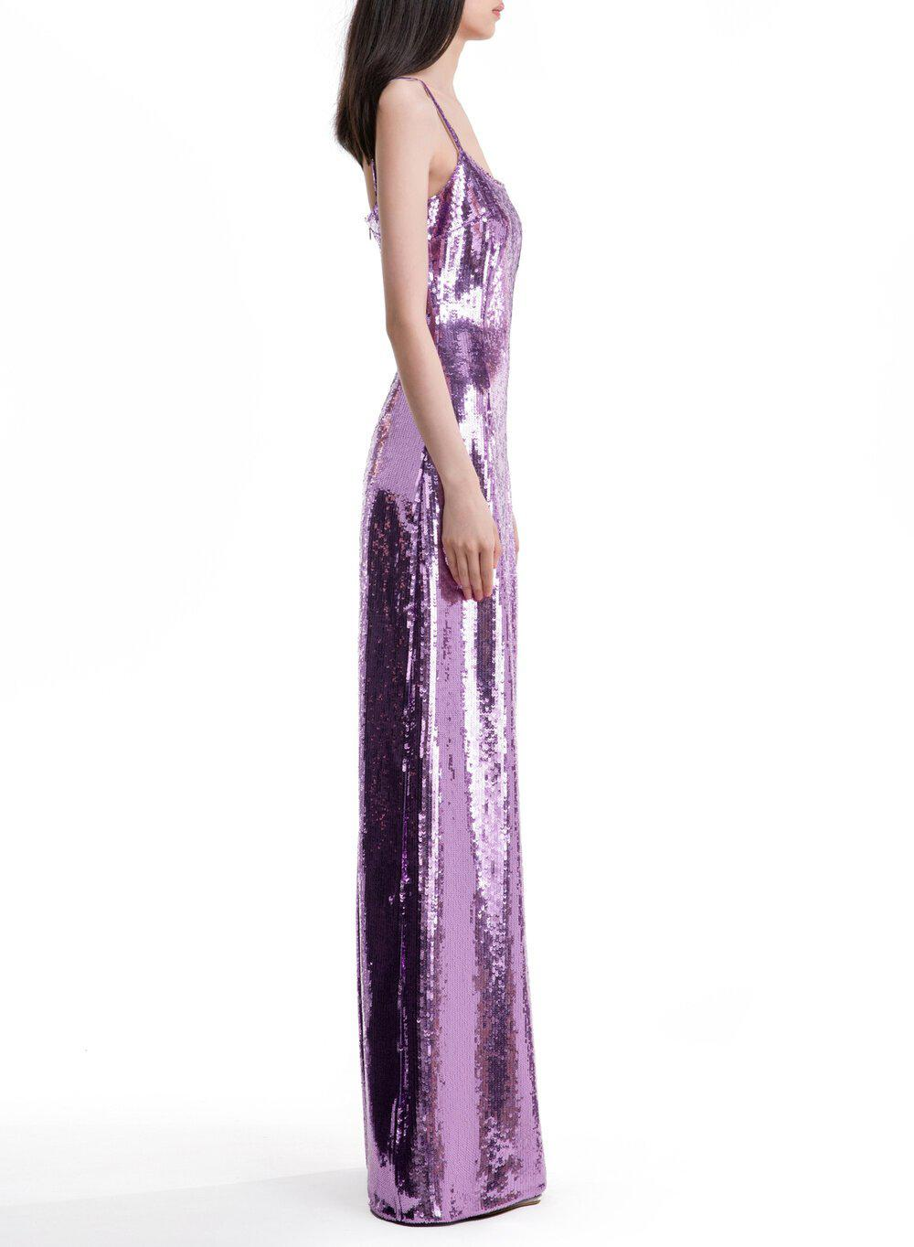 AURORA GOWN LILAC TULLE 6