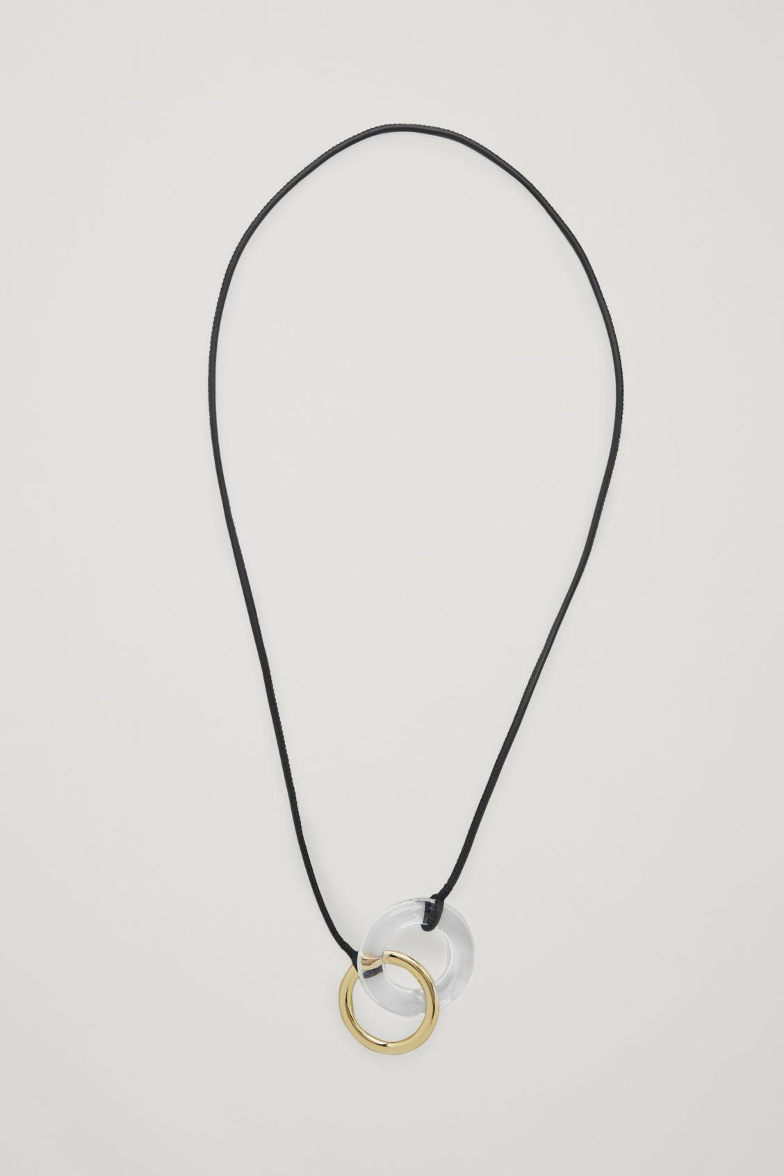 INTERLINKED RING NECKLACE 0