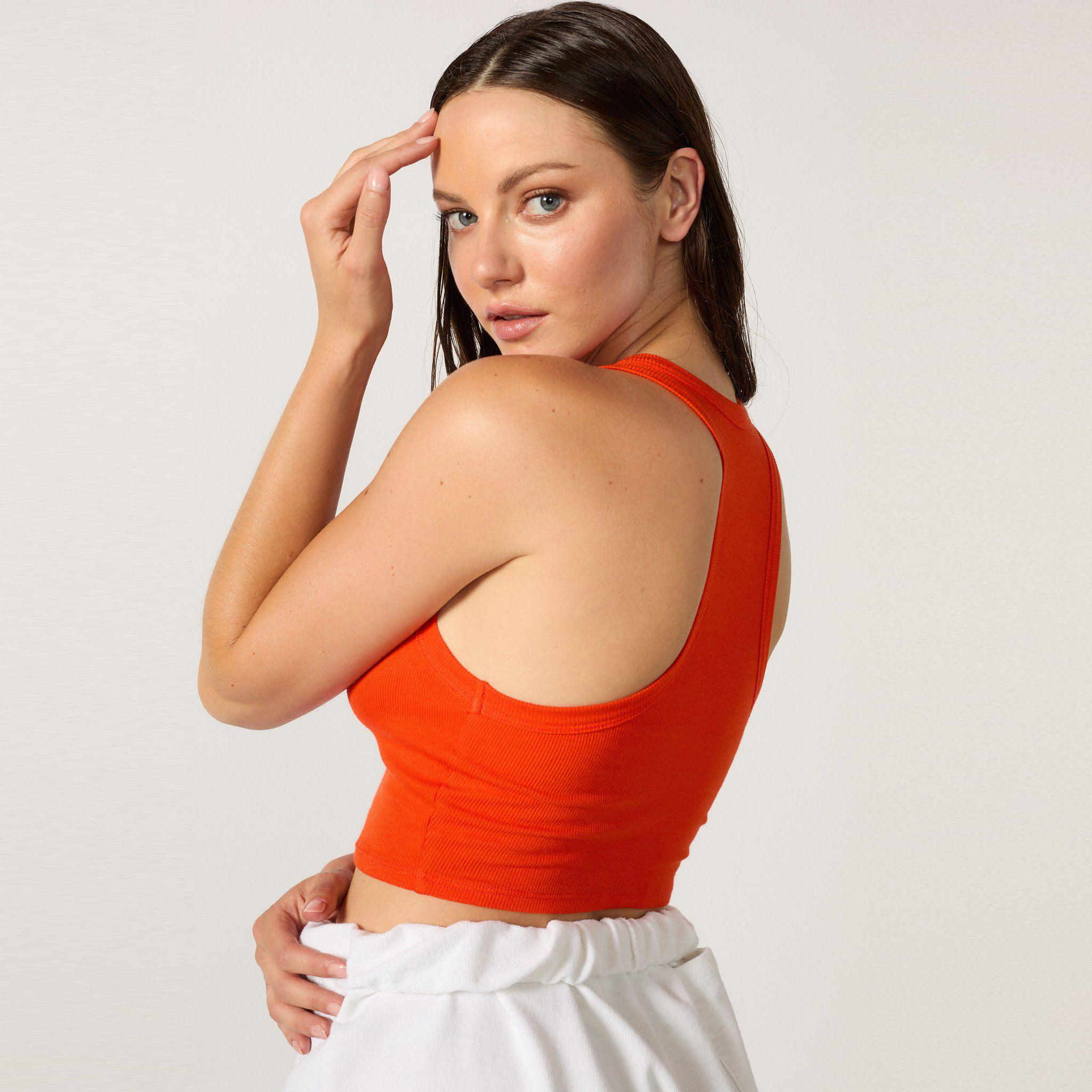 The Live-in Cropped Rib Tank 5