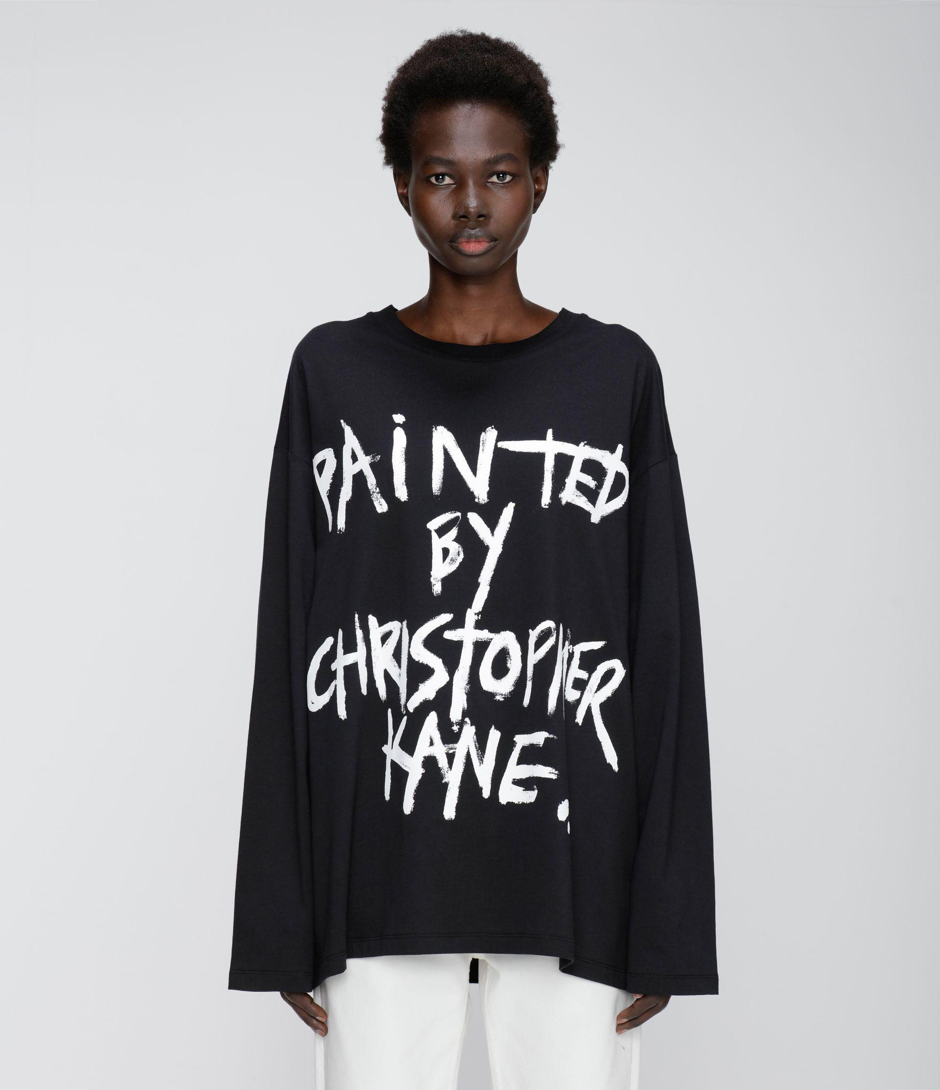Painted by Christopher Kane long sleeve t-shirt
